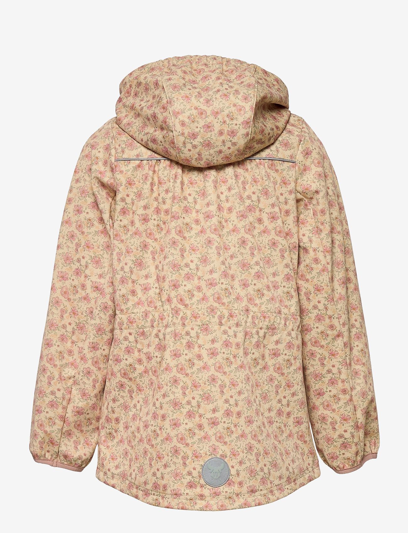 Wheat - Softshell Jacket Gilda - softshell jassen - soft beige flowers - 1