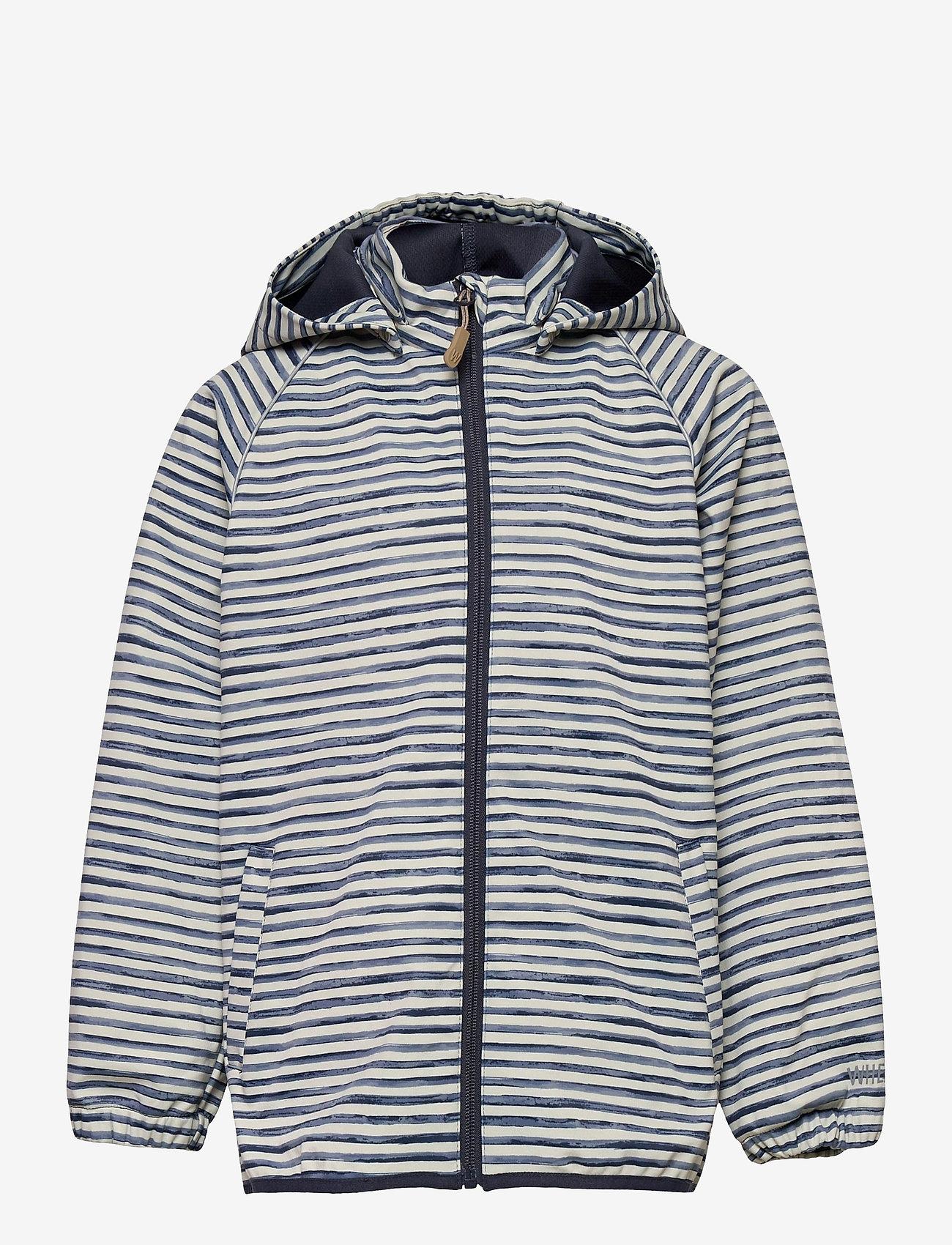 Wheat - Softshell Jacket Eddie - softshell-jakker - kit stripe - 0