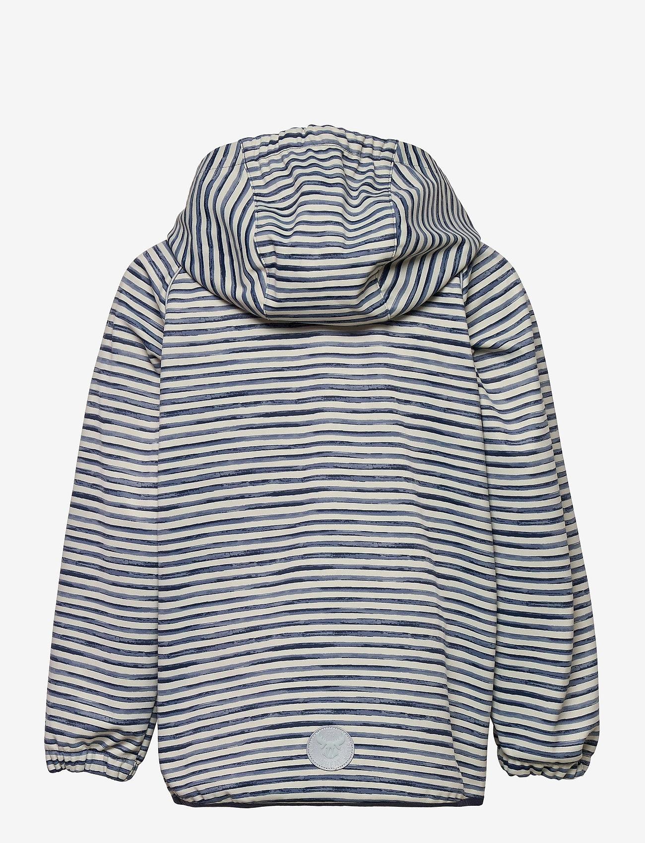 Wheat - Softshell Jacket Eddie - softshell-jakker - kit stripe - 1