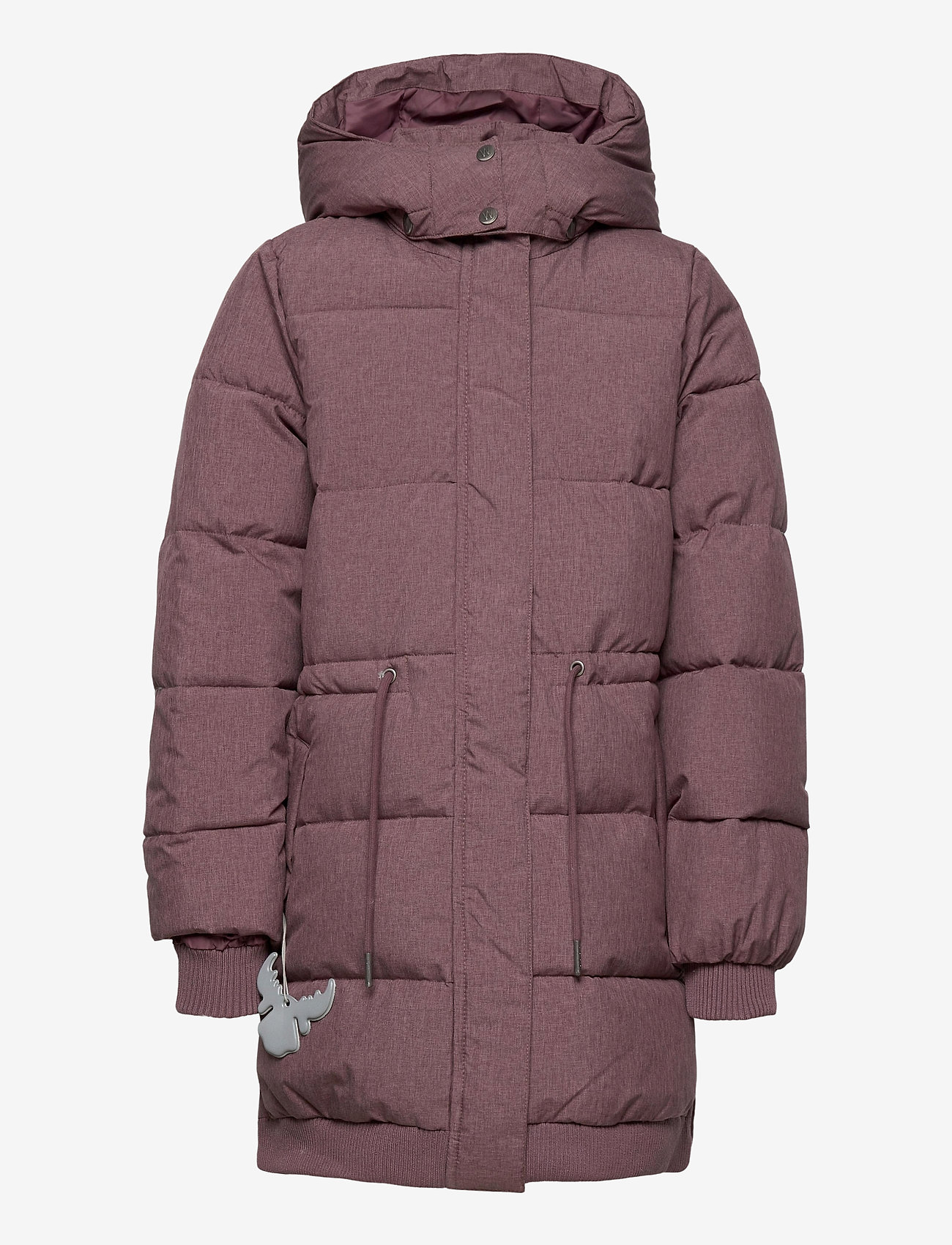 Wheat - Down Jacket Kamma - puffer & padded - eggplant melange - 1