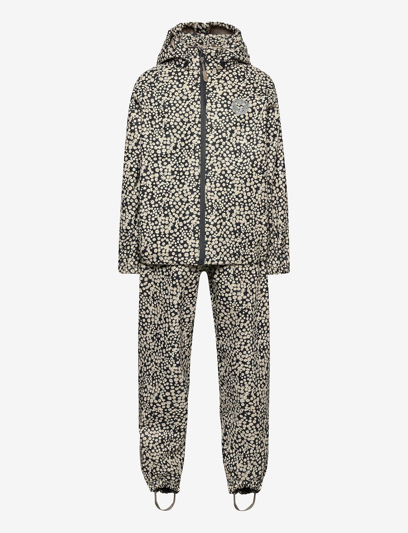 Wheat - Rainwear Charlie - sets & suits - ink flowers - 0