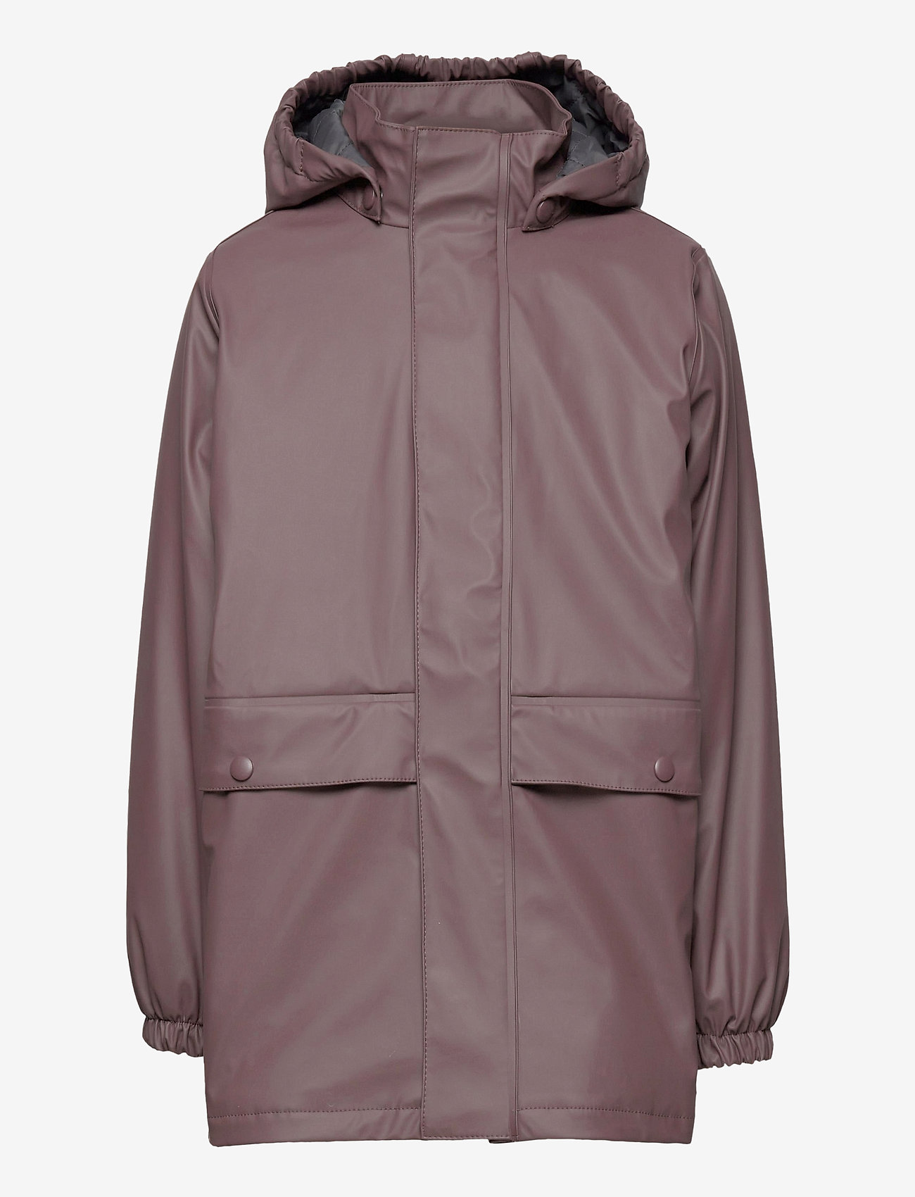 Wheat - Thermo Rain Coat Ajo - jassen - eggplant - 1
