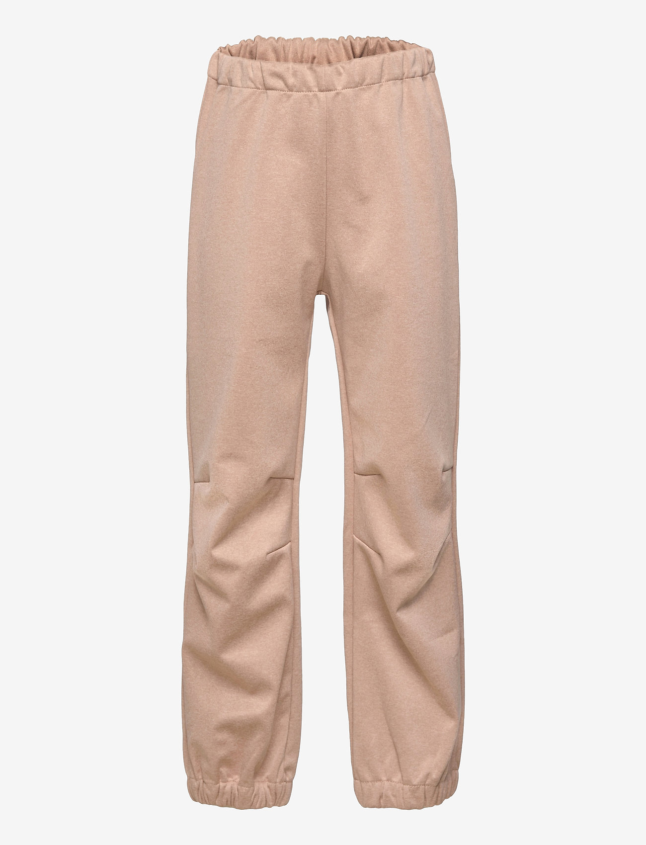 Wheat - Softshell Pants Jean - broeken - fawn melange - 0