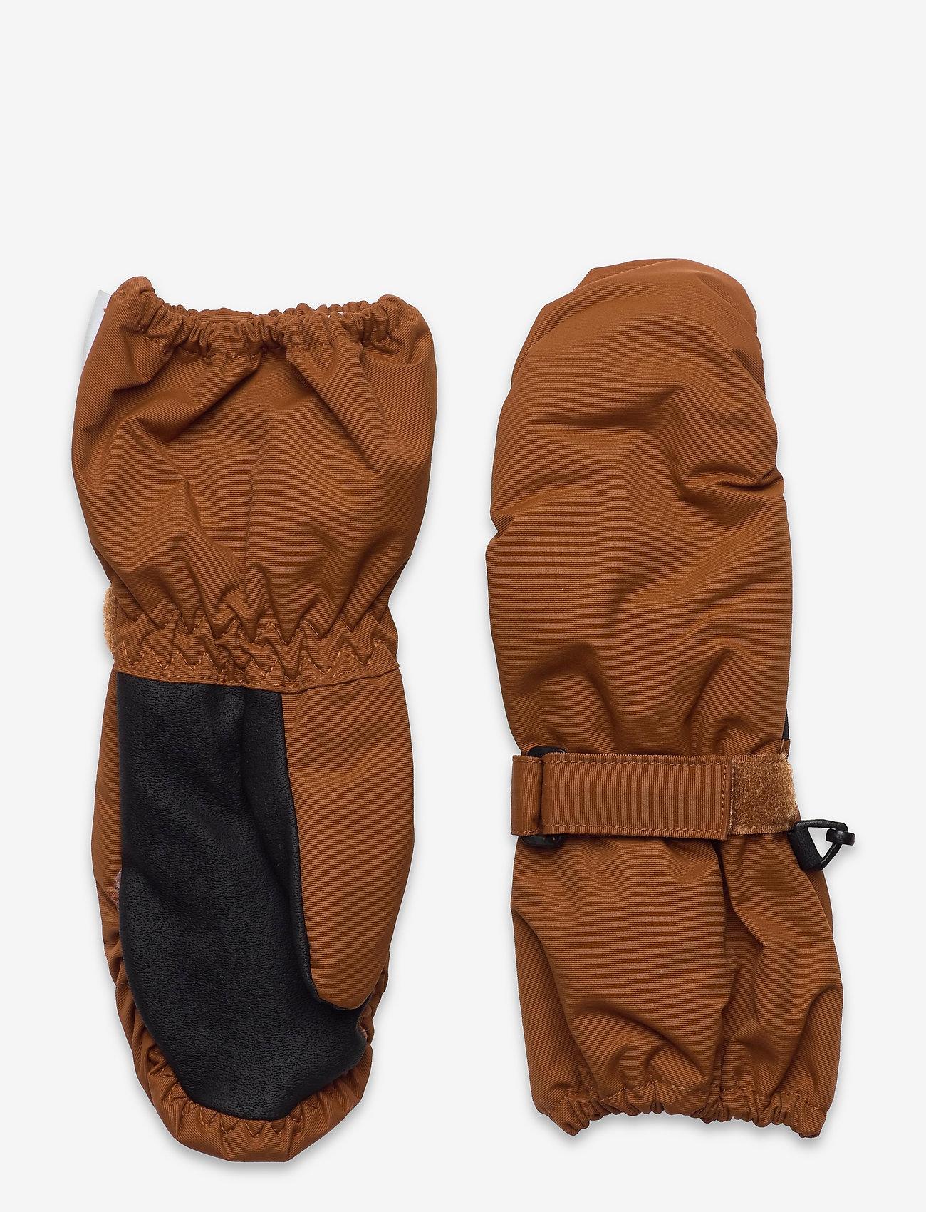 Wheat - Mittens Tech - hoeden & handschoenen - cinnamon - 0