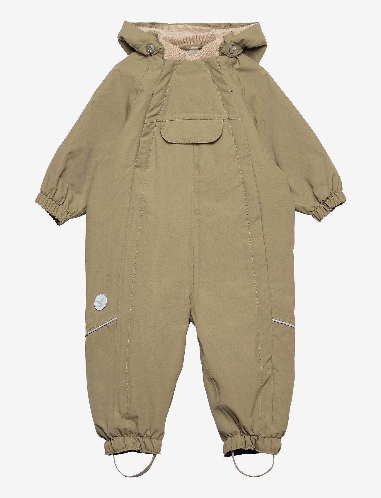 Wheat - Outdoor suit Olly Tech - outerwear - dusty green - 0