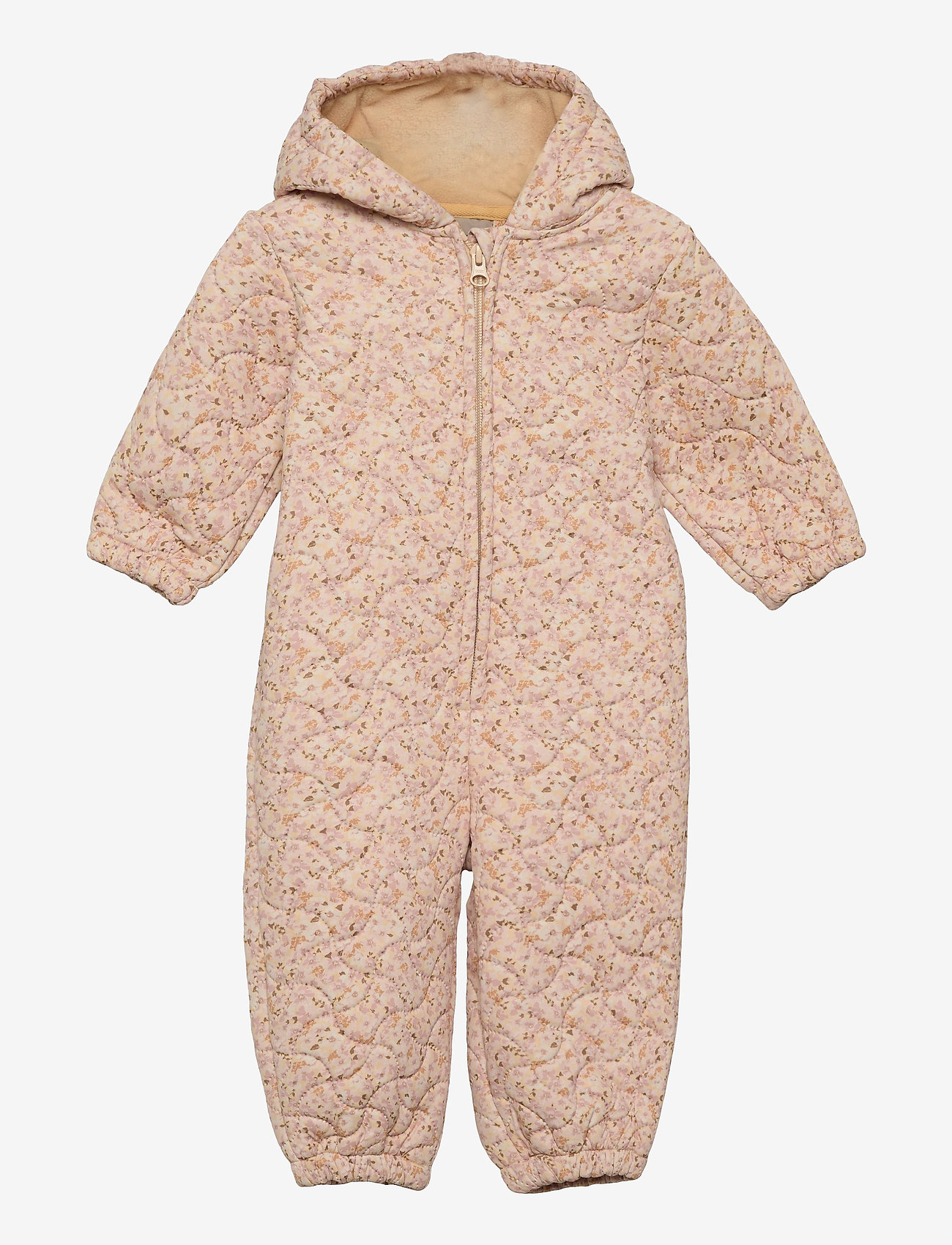 Wheat - Thermosuit Harley - outerwear - soft beige flowers - 0