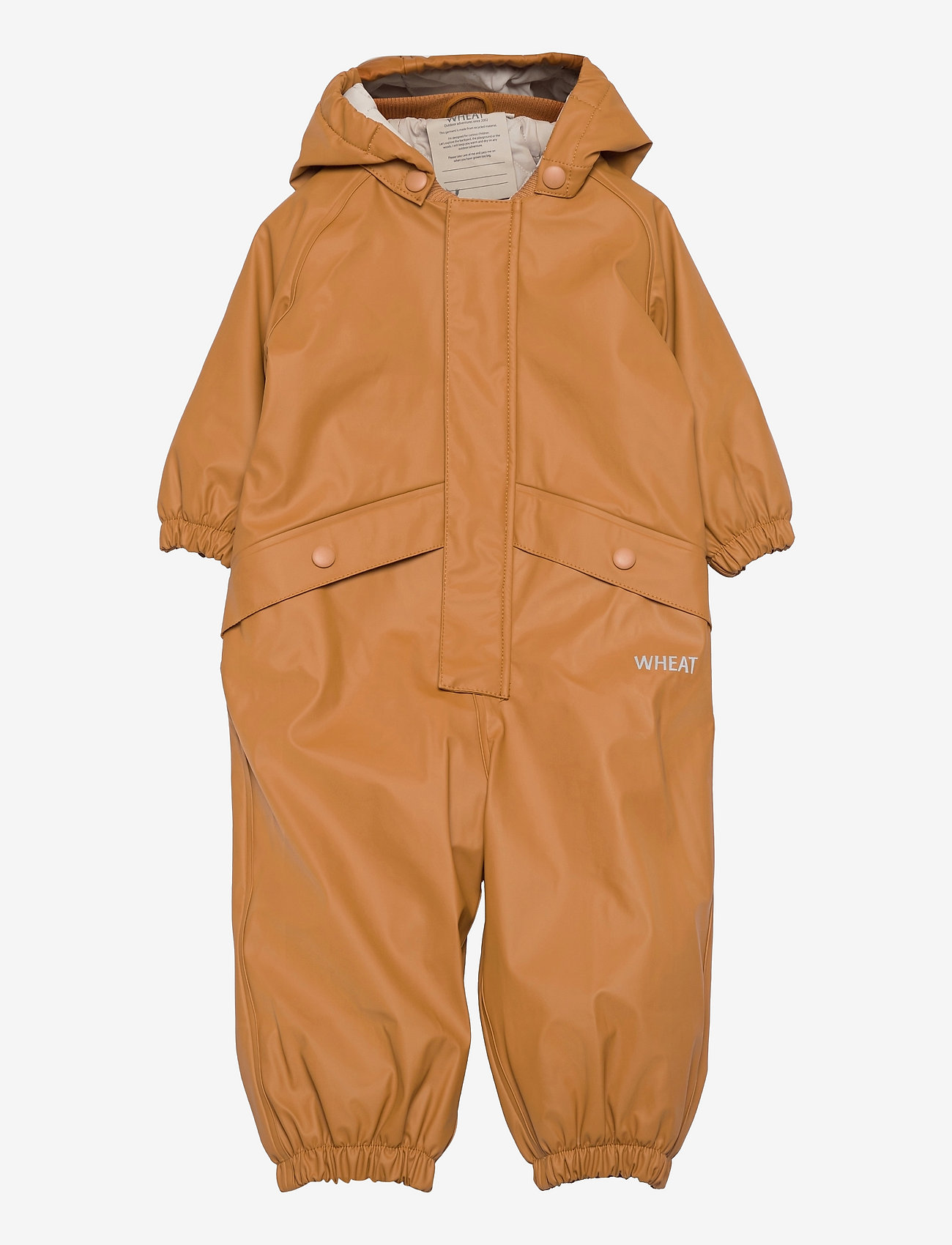 Wheat - Thermo Rainsuit Aiko - sets & suits - almond - 0
