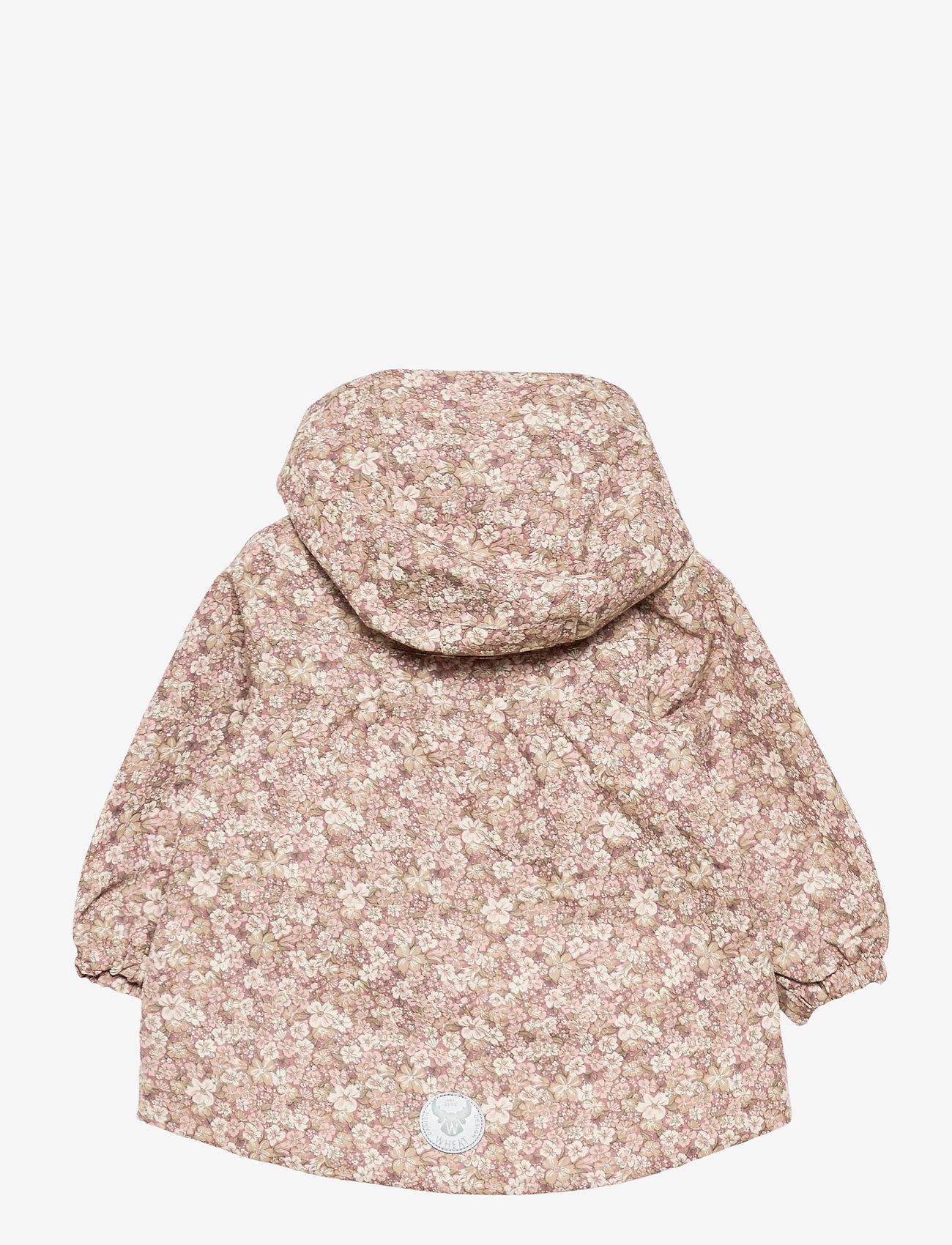 Wheat - Jacket Ada Tech - vindjakke - rose flowers - 1