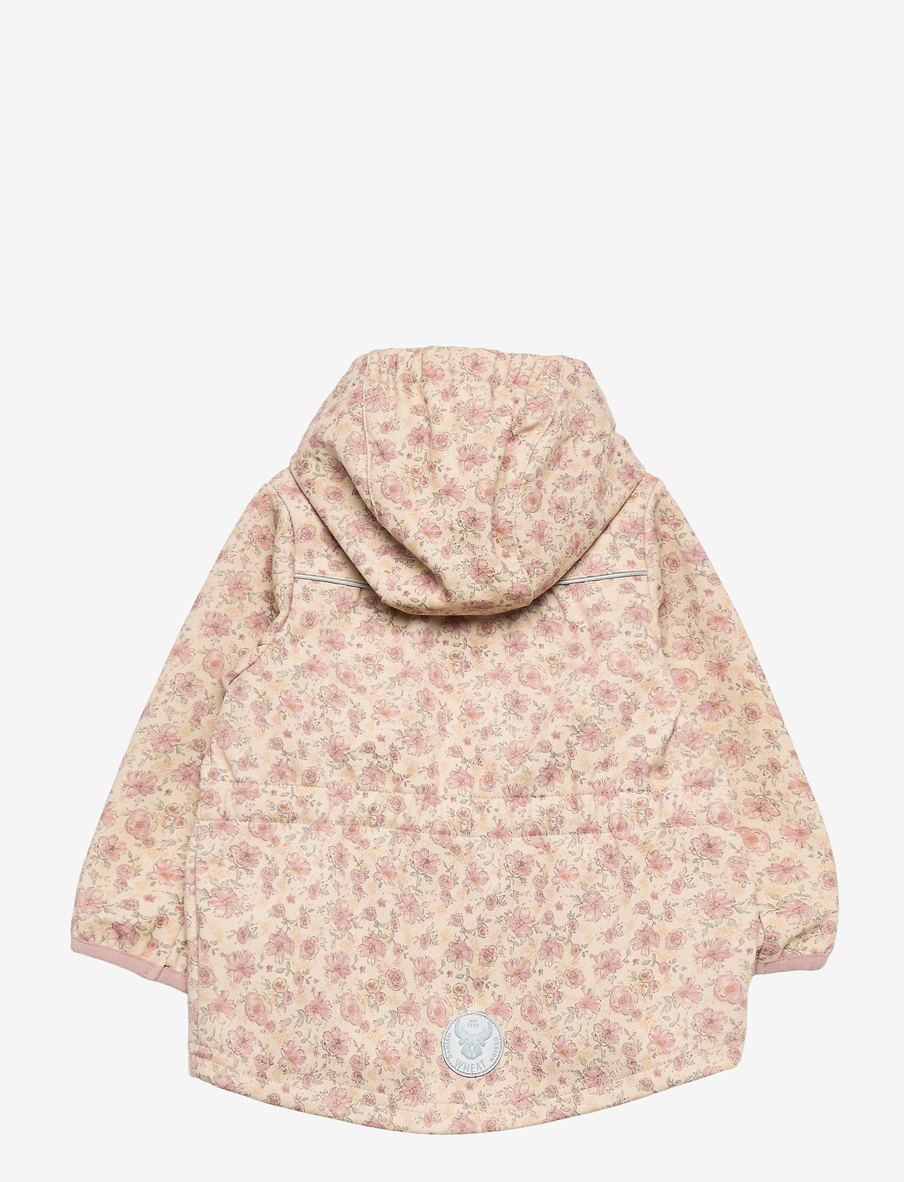 Wheat - Softshell Jacket Gilda - kapuzenpullover - soft beige flowers - 1