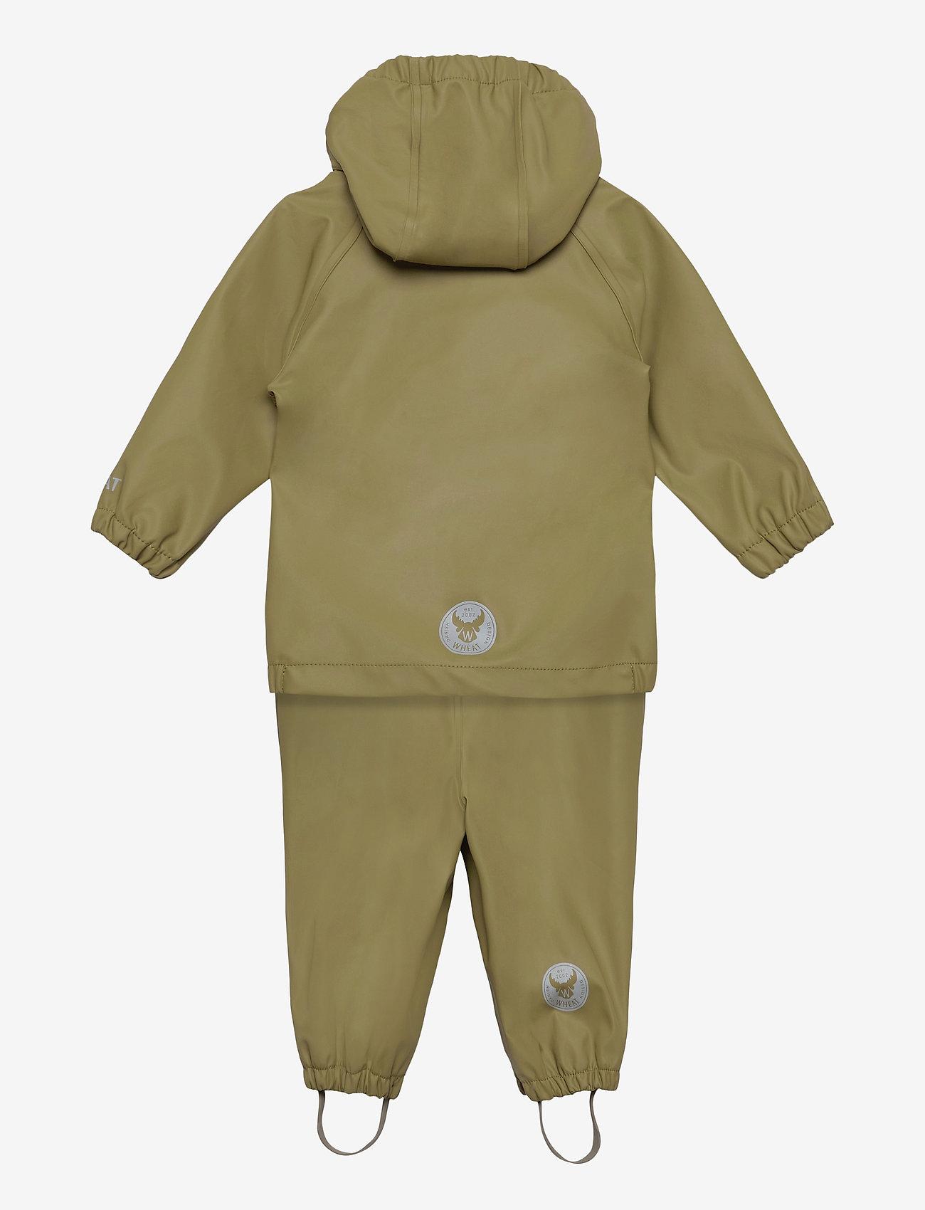 Wheat - Rainwear Charlie - sets & suits - heather green - 1