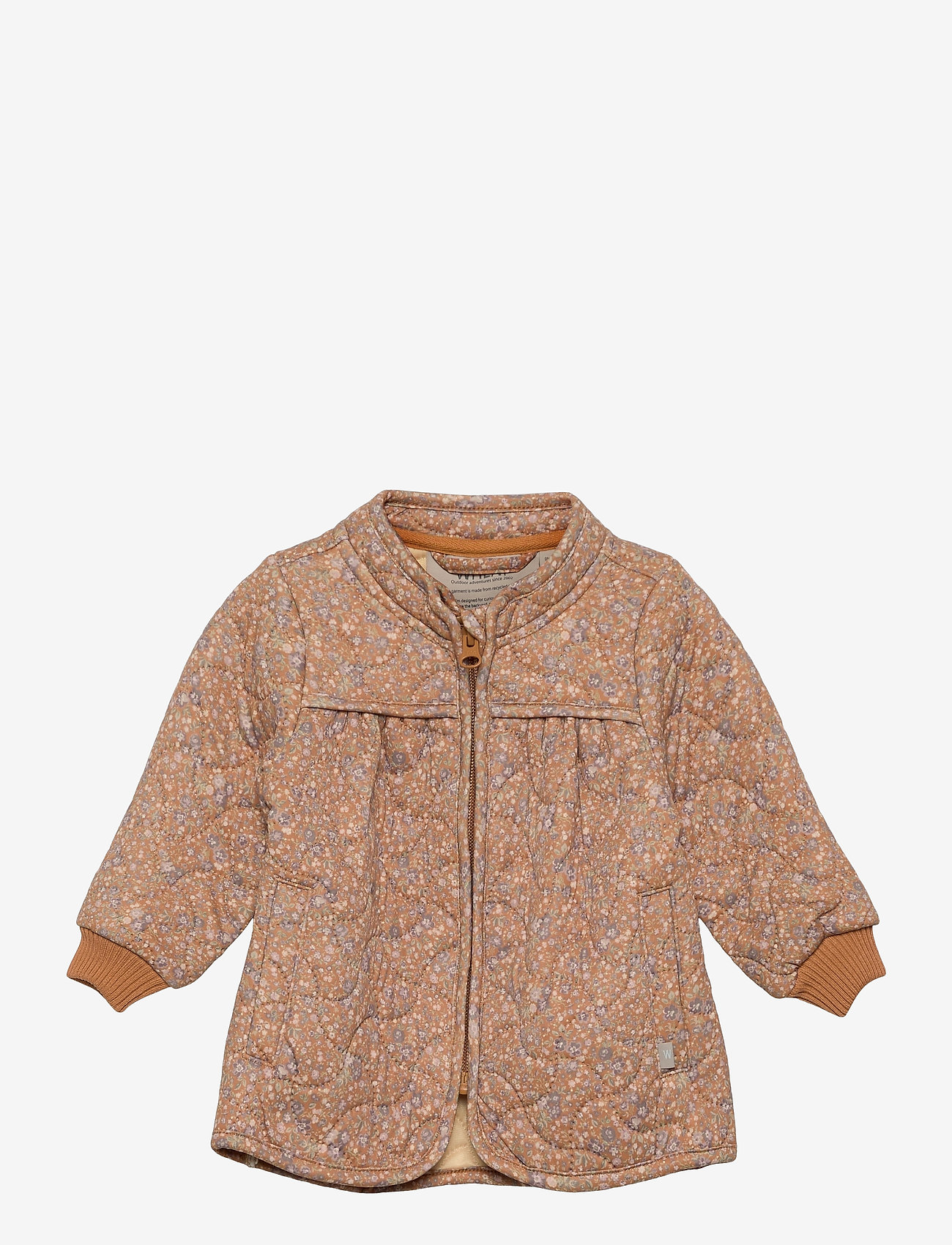 Wheat - Thermo Jacket Thilde LTD - overall - golden flowers - 0