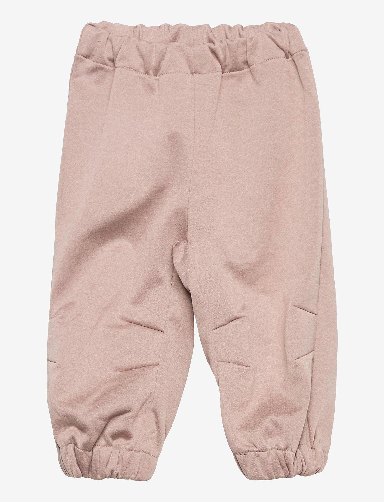 Wheat - Softshell Pants Jean - broeken - fawn melange - 0