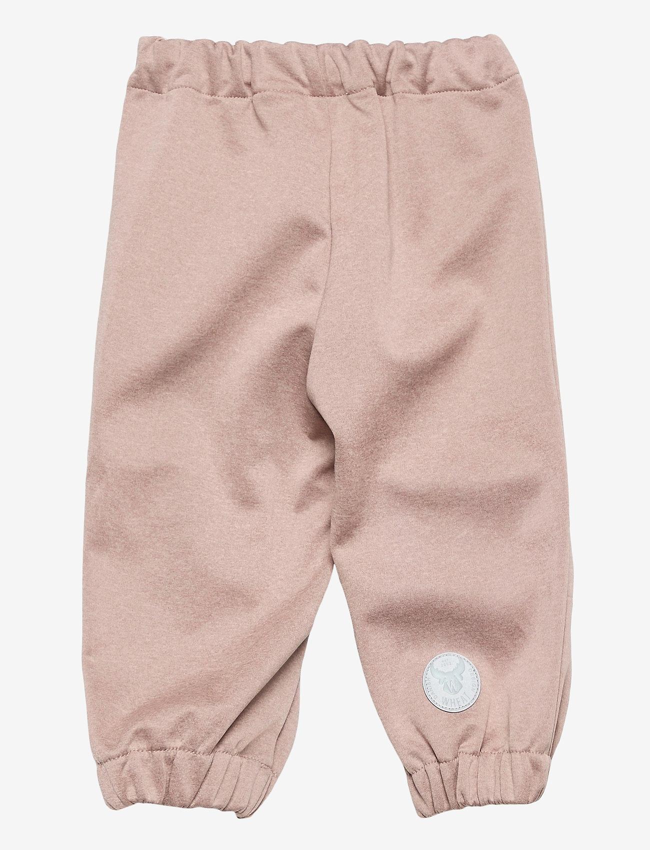 Wheat - Softshell Pants Jean - broeken - fawn melange - 1