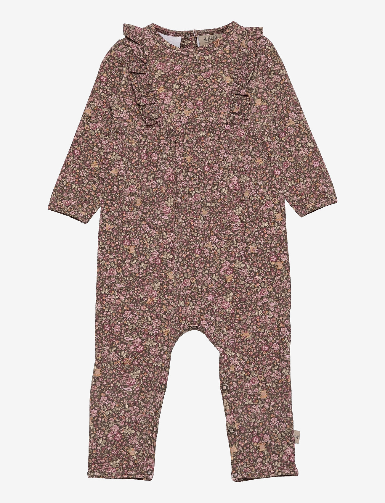 Wheat - Jumpsuit Kira - langärmelig - cups and mice - 0