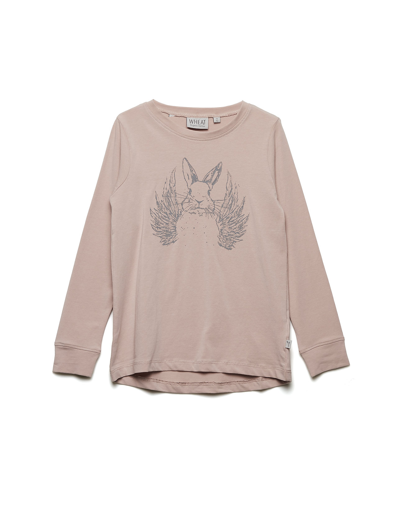 Wheat T-Shirt Flying Rabbit - ROSE POWDER