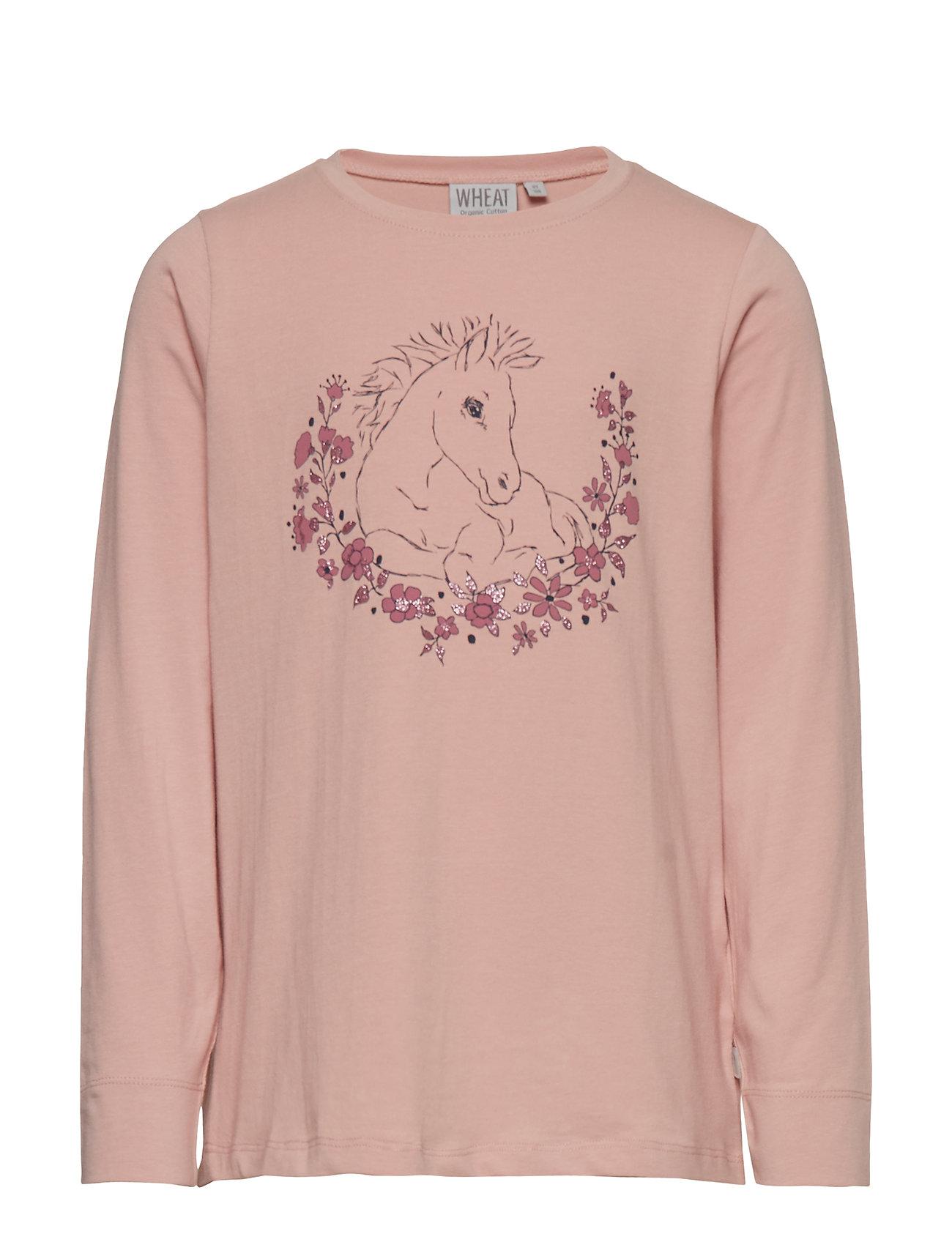 Wheat T-Shirt Foal - MISTY ROSE