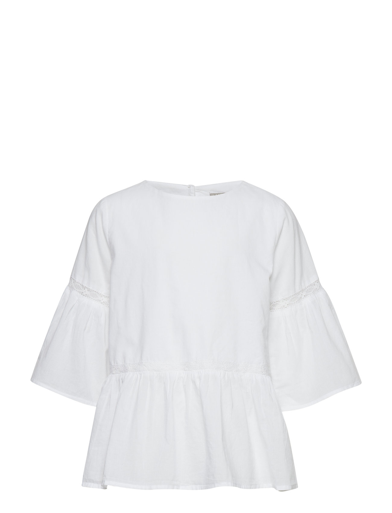 Wheat Blouse Sia - WHITE