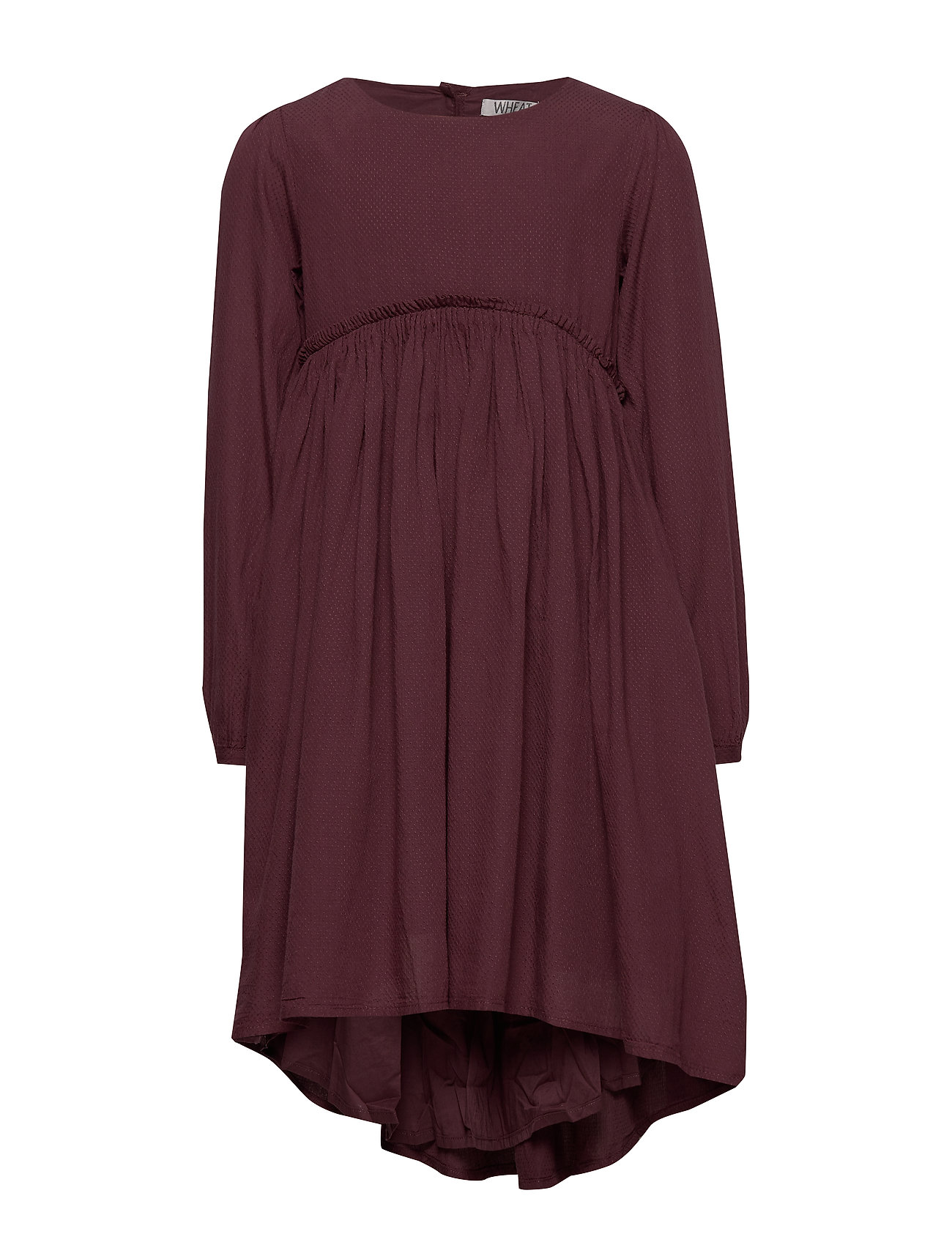 Wheat Dress Magda - SOFT EGGPLANT