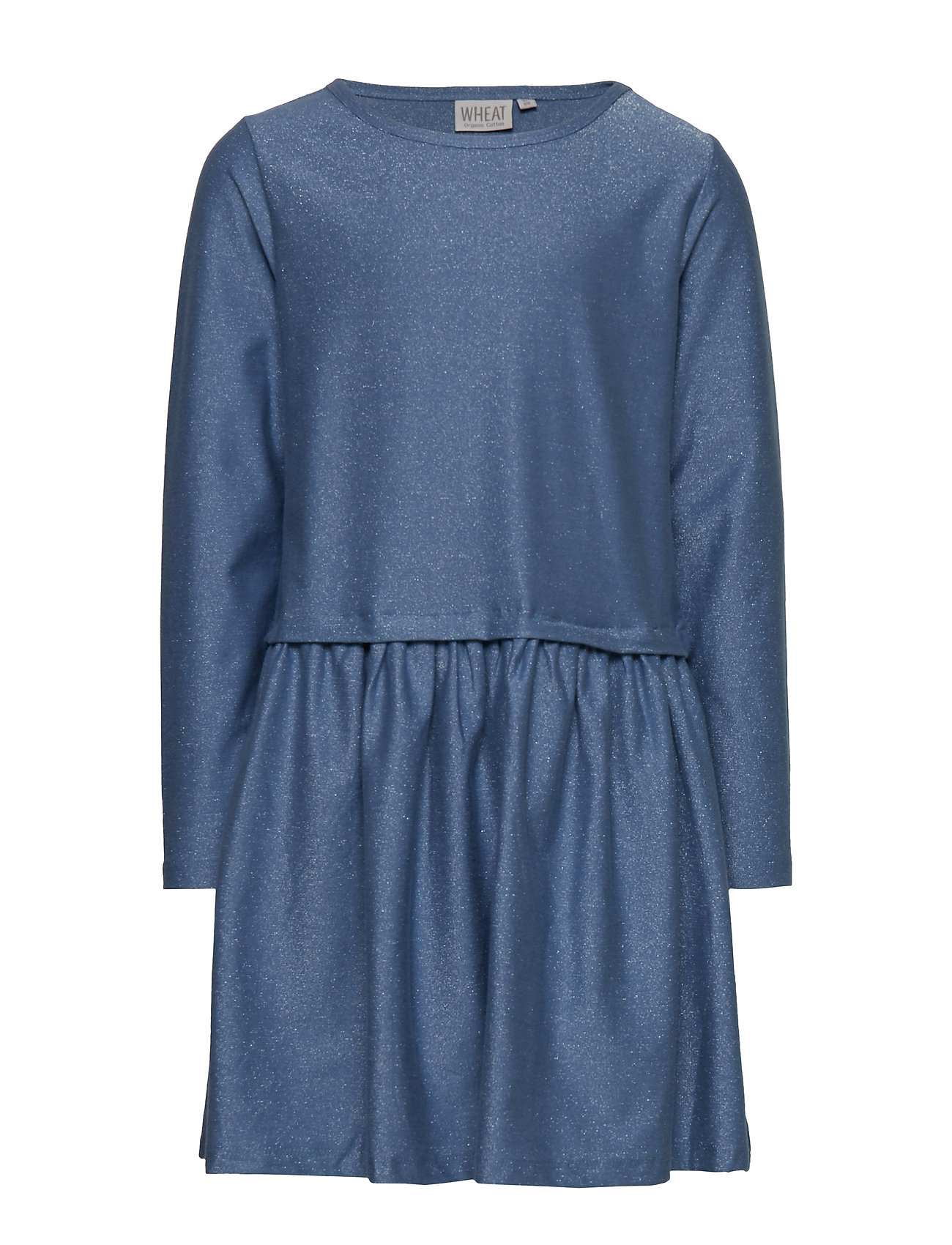 Wheat Dress Astrid - BLUE SILVER
