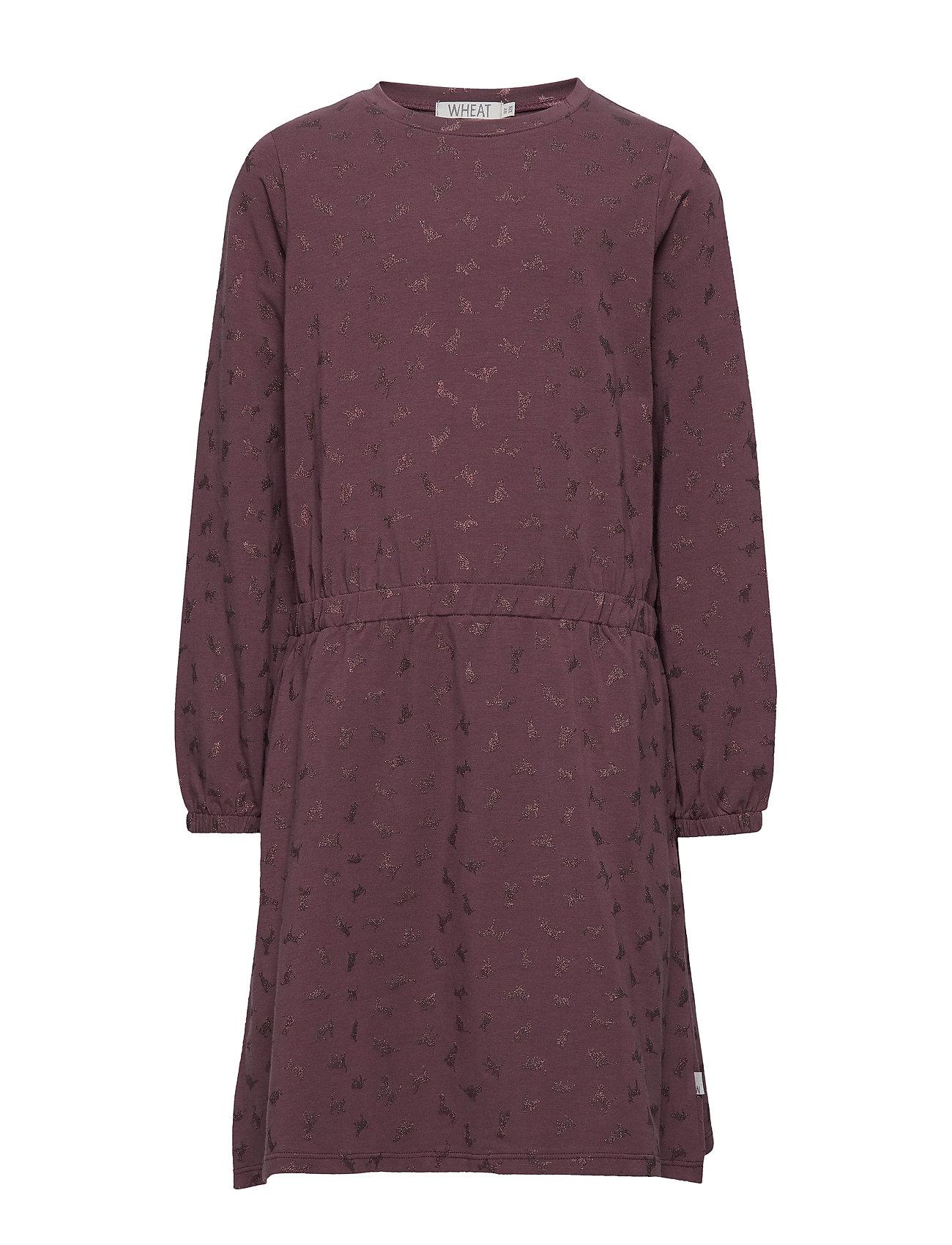 Wheat Dress Henrietta - SOFT EGGPLANT