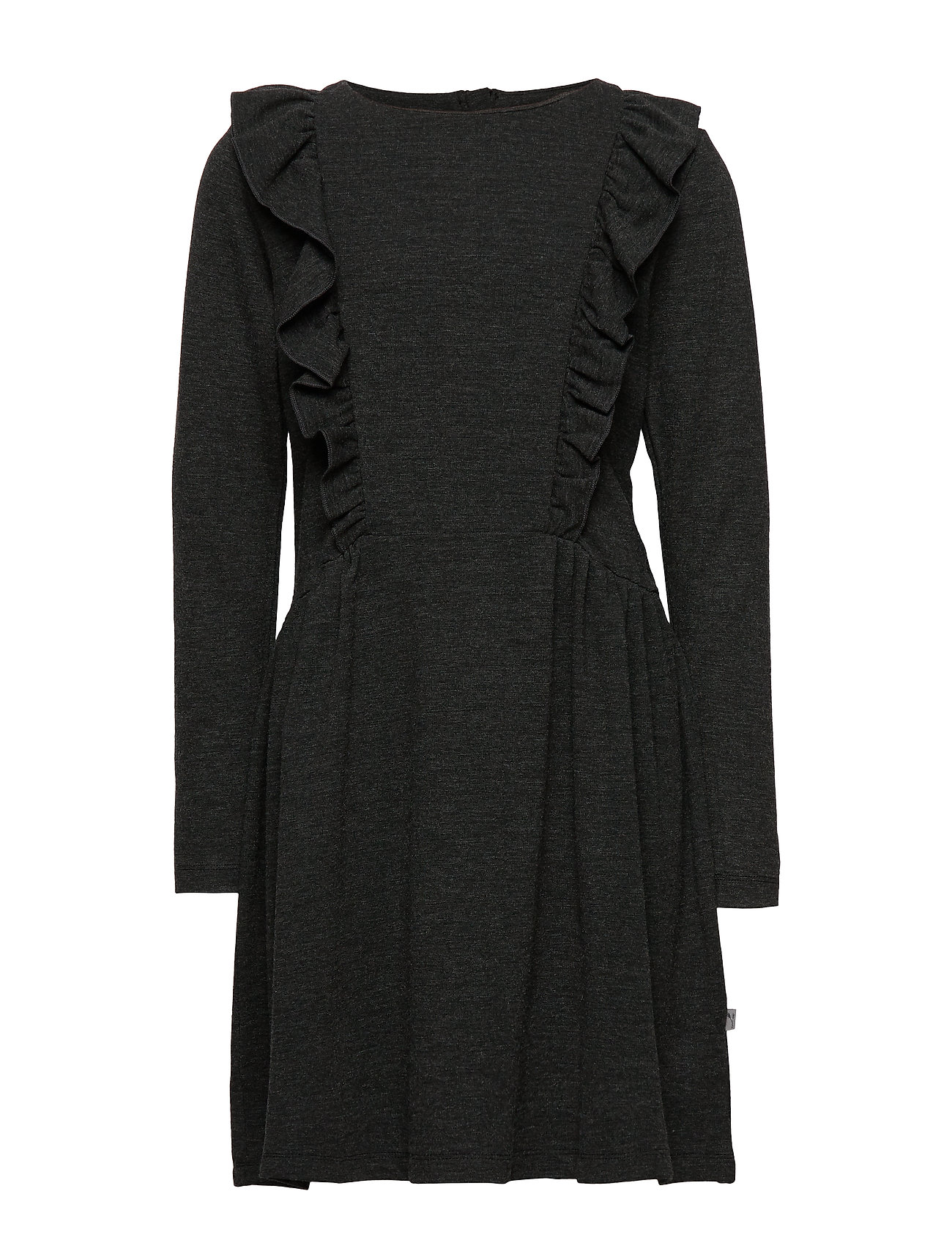 Wheat Dress Majvi - CHARCOAL MELANGE