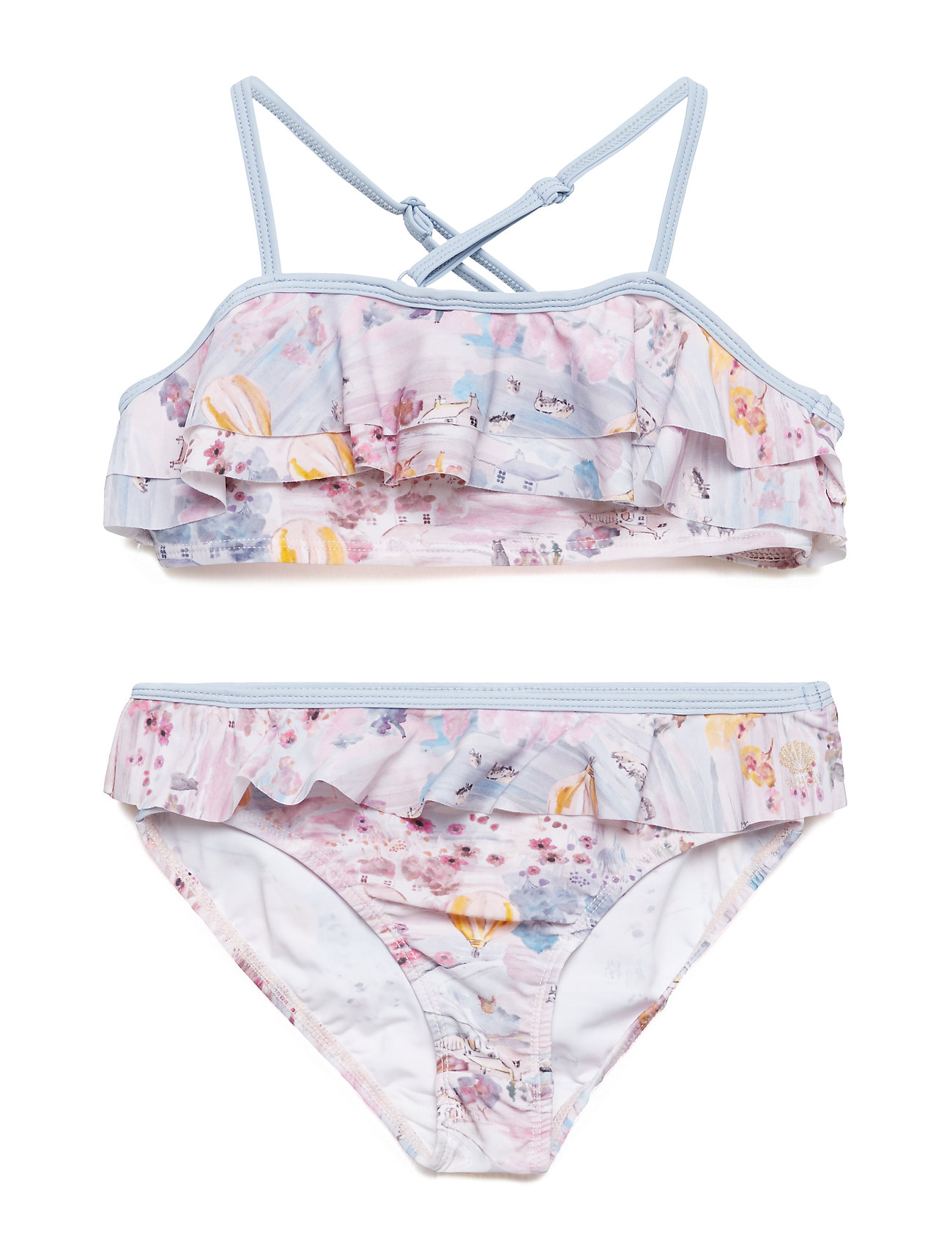 Wheat Bikini Isabel - PALE ROSE
