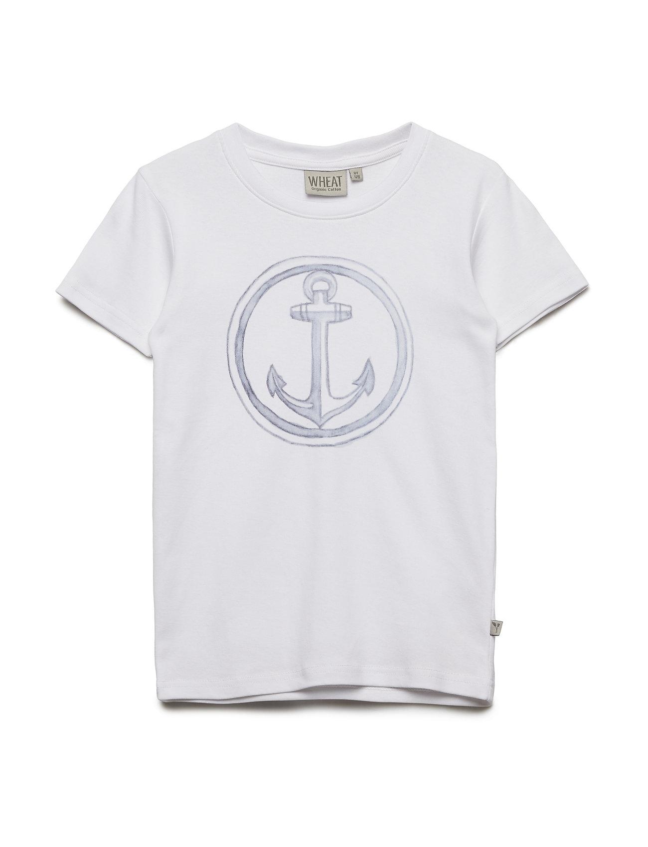 Wheat T-Shirt Anchor - WHITE