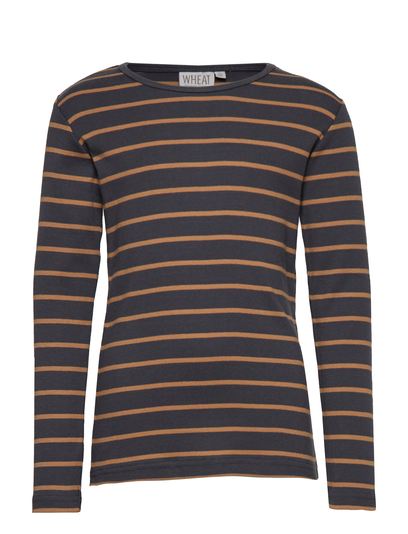 Wheat T-Shirt Striped LS - CARAMEL