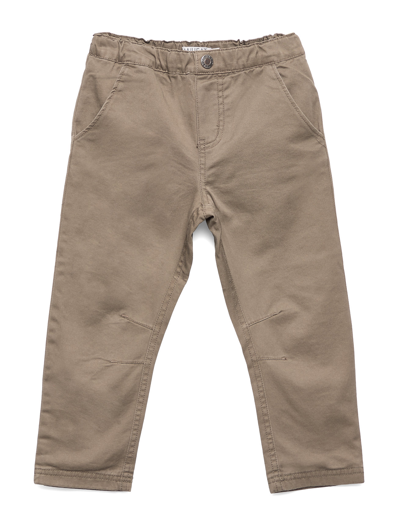 Wheat Trousers Noah Lined - DARK ROCK