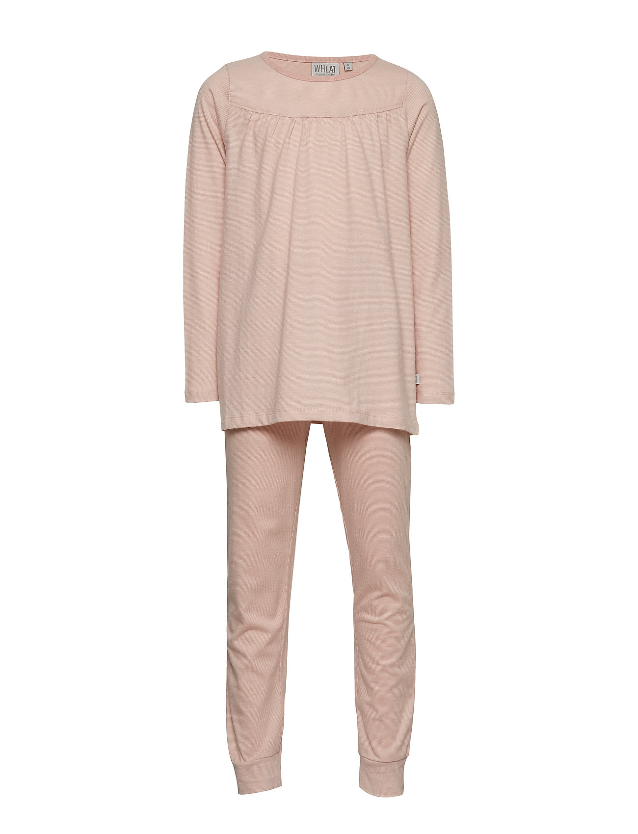 Wheat Pajamas Yoke LS - DARK ROSE