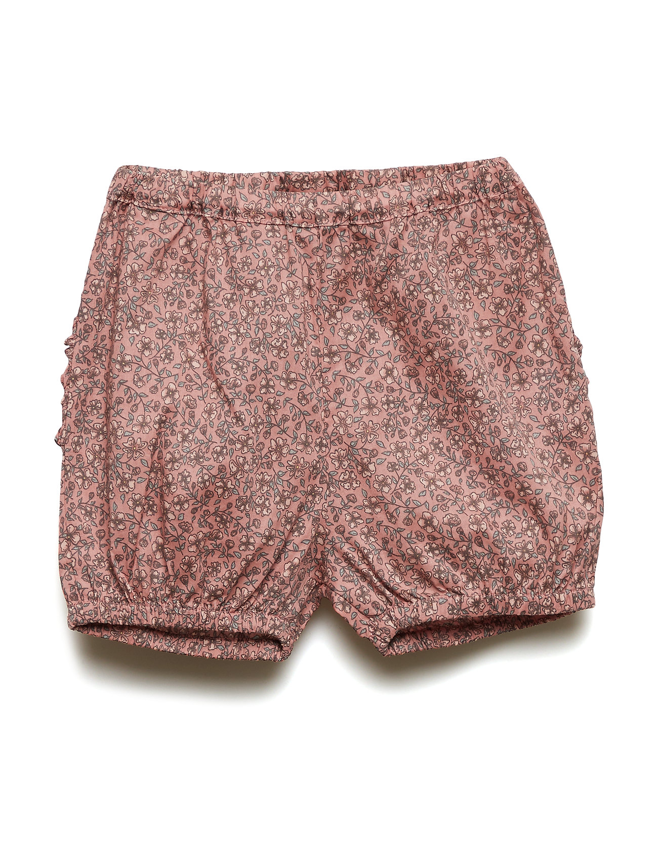 Wheat Nappy Pants Ruffles - SOFT ROUGE