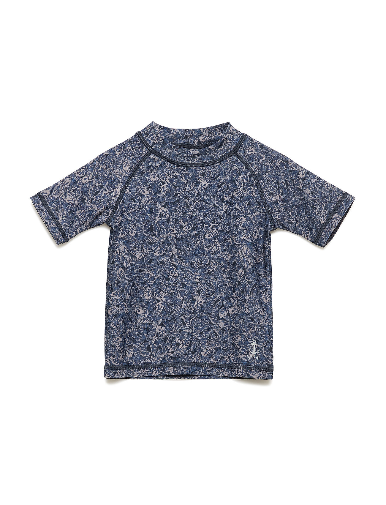 Wheat Swim T-Shirt Jackie SS - NAVY