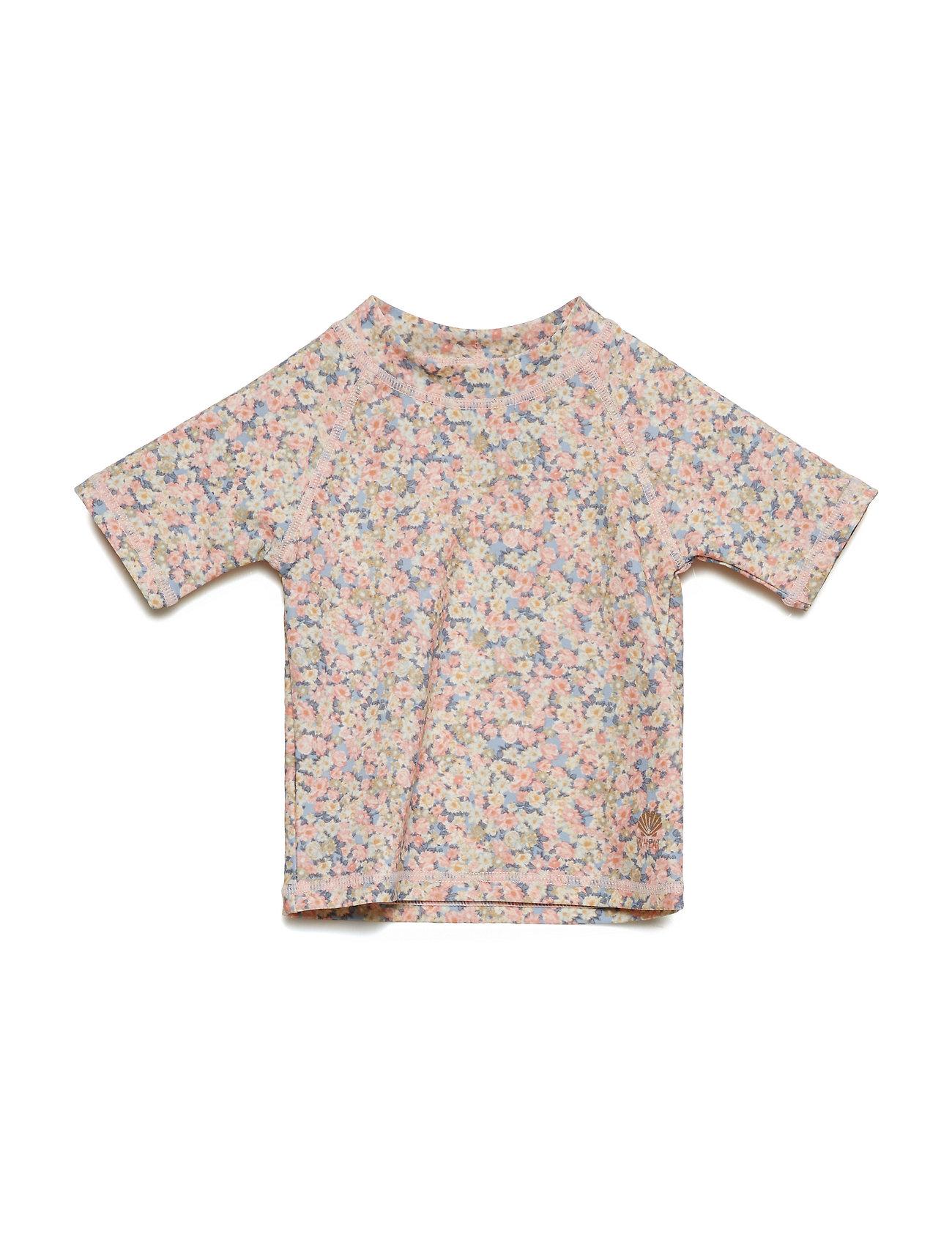 Wheat Swim T-Shirt Jackie SS - SKY