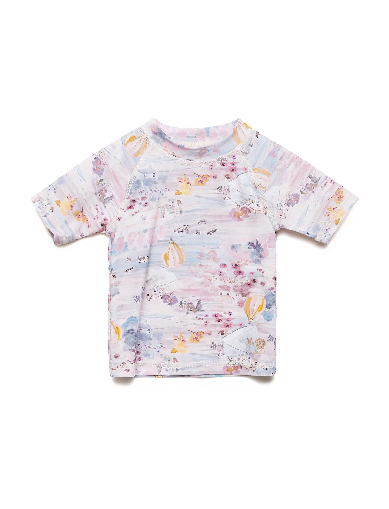 Wheat Swim T-Shirt Jackie SS - PALE ROSE