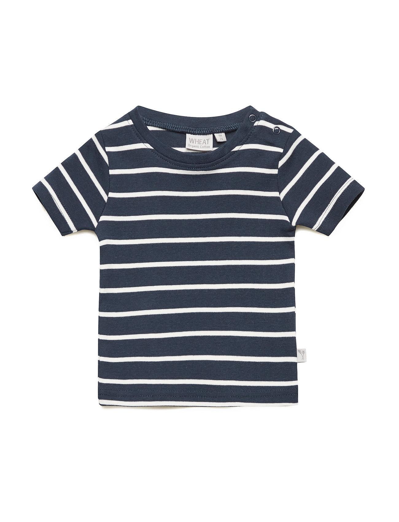Wheat T-Shirt Wagner SS - NAVY