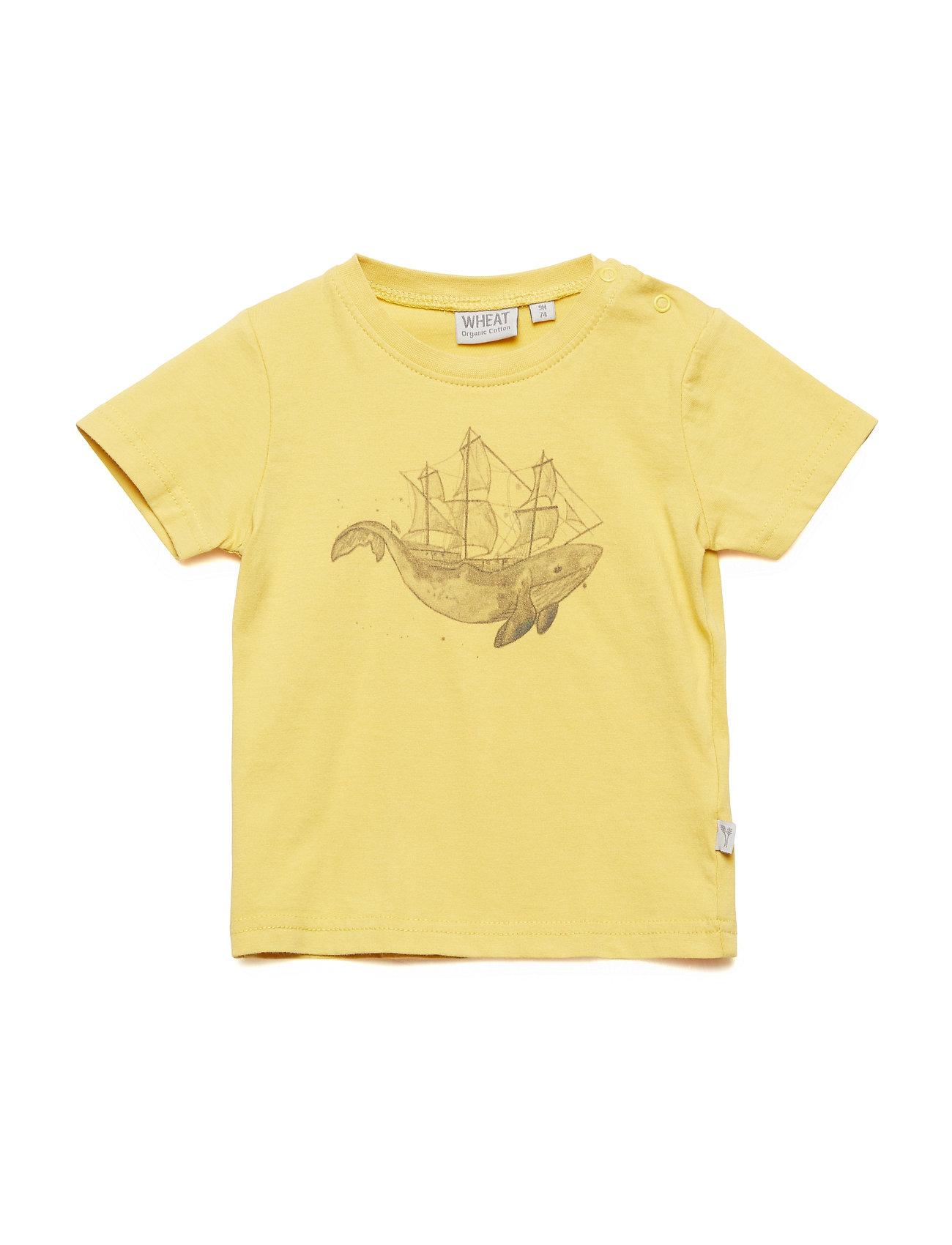 Wheat T-Shirt Whale - POMELO
