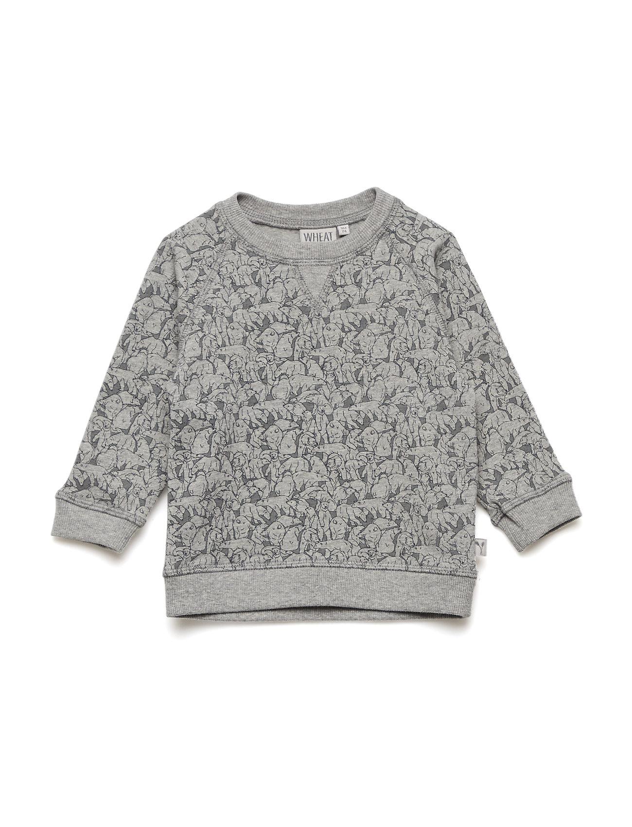 Wheat Sweatshirt Elvis - MELANGE GREY