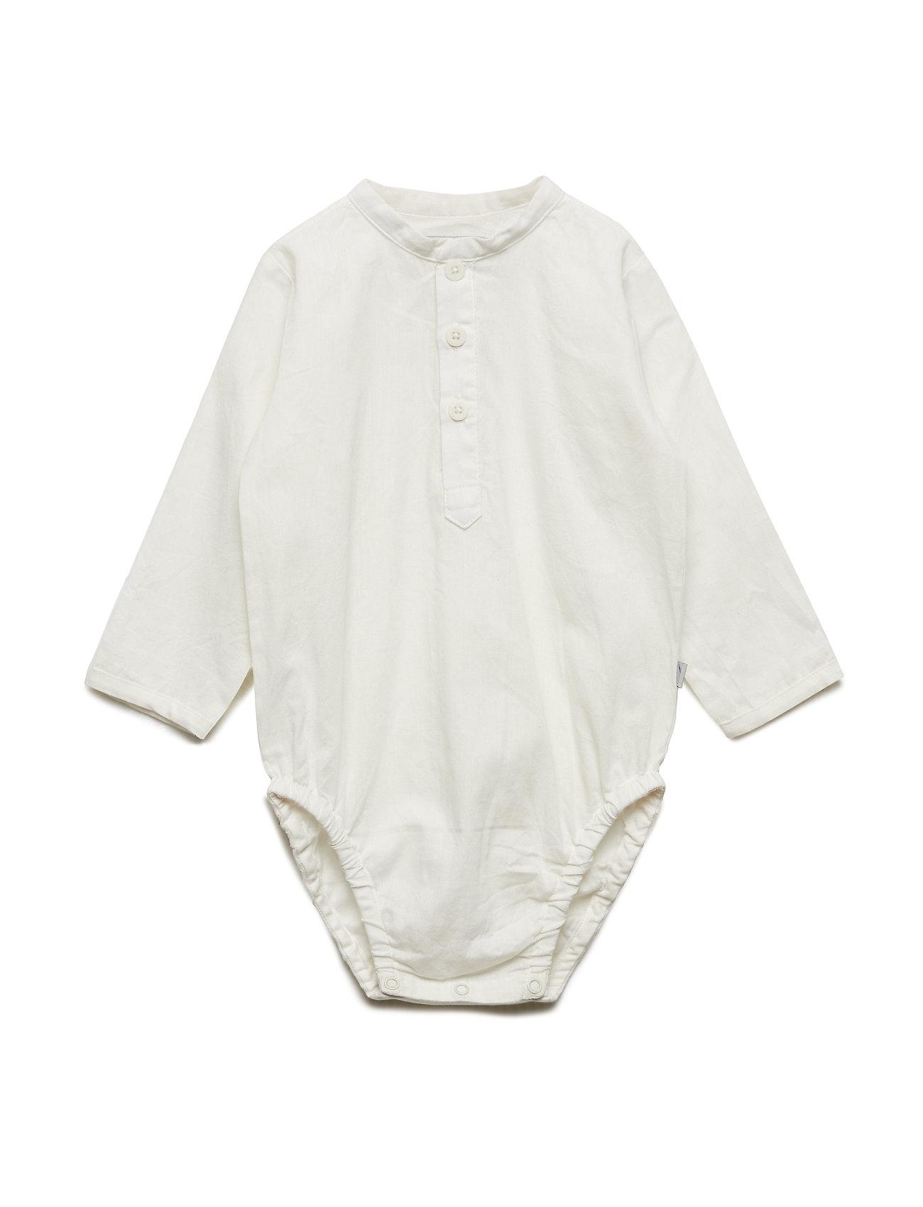 Wheat Romper Shirt Victor - WHITE