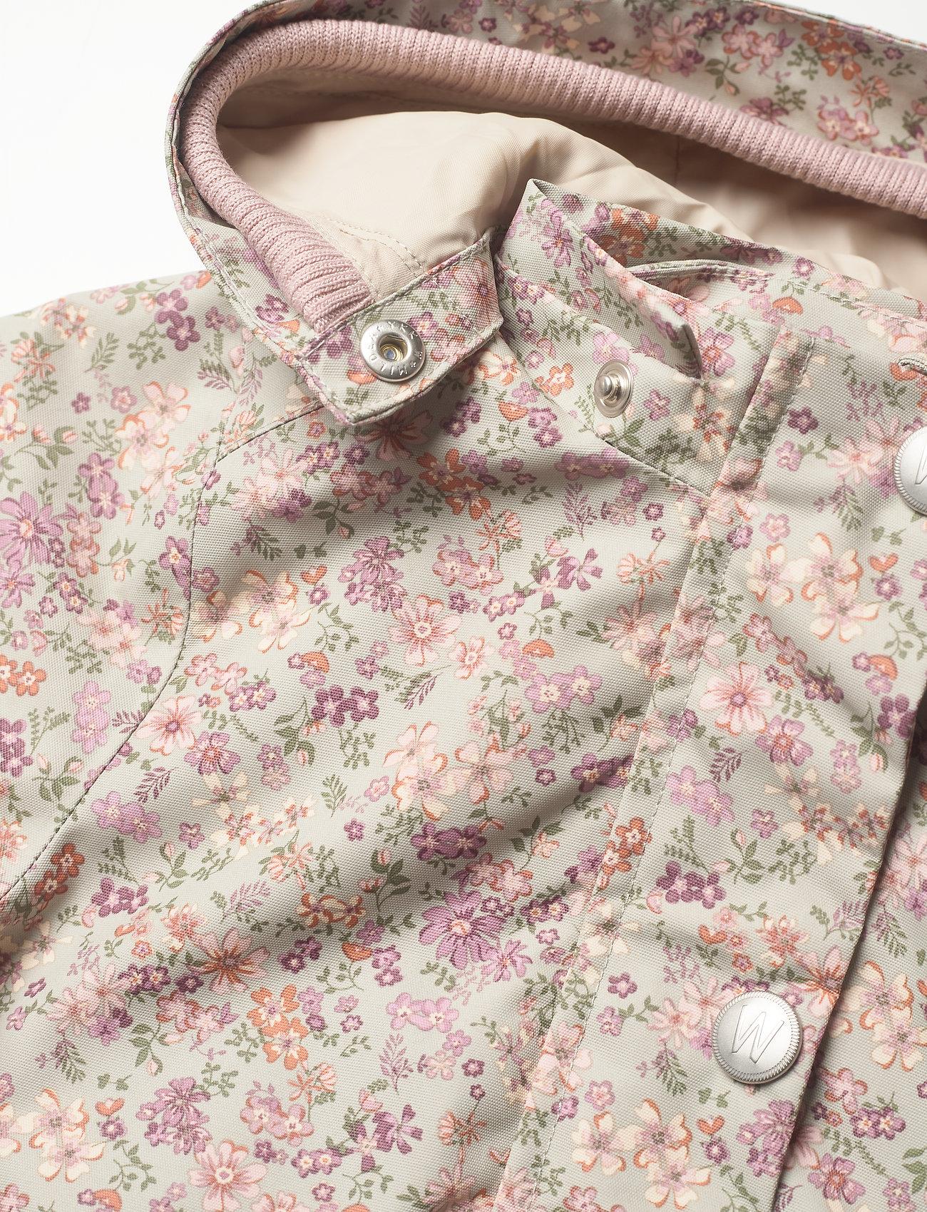 Wheat - Jacket Ada Tech - parkas - stone flowers - 5
