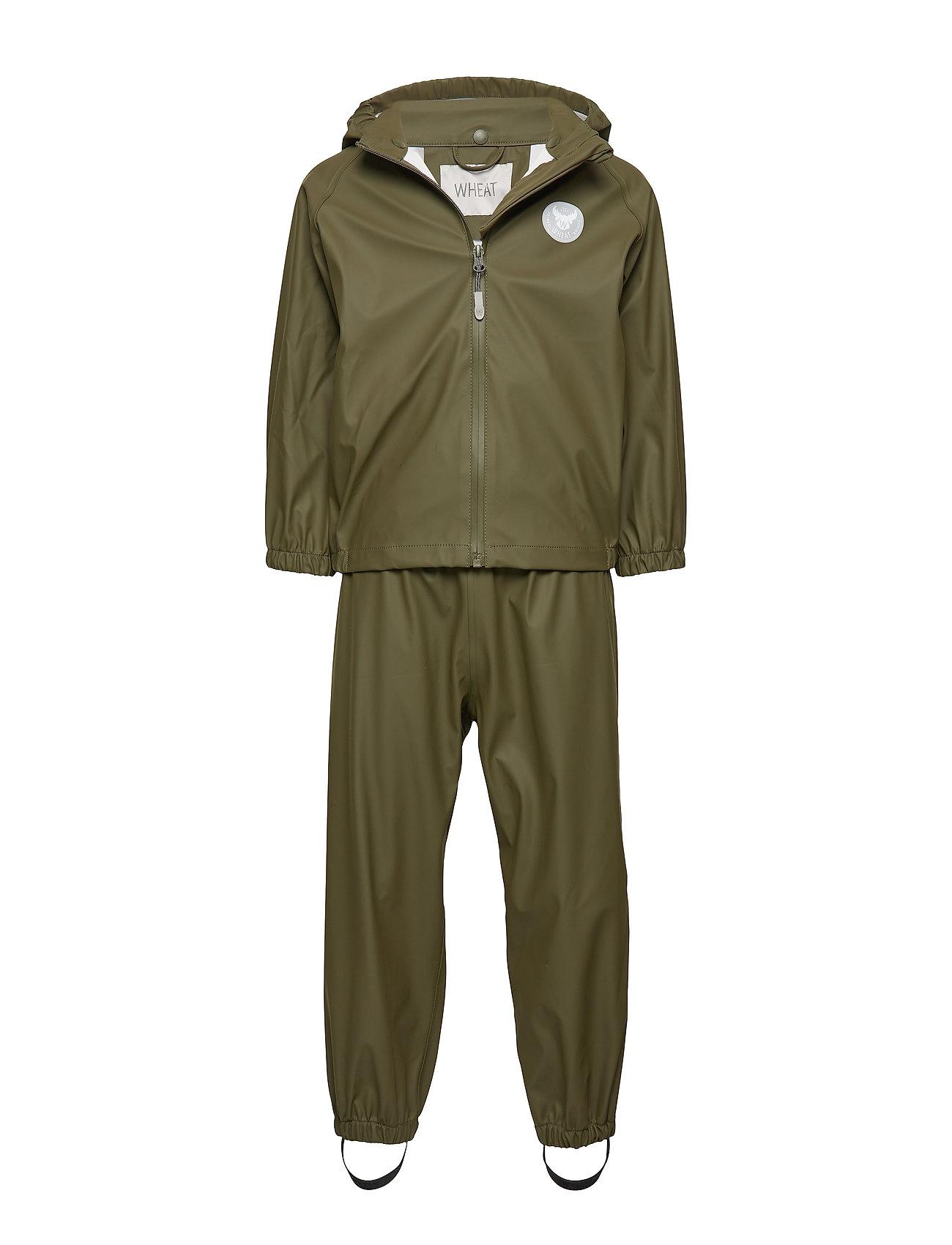 Wheat Rainwear Charlie - ARMY LEAF