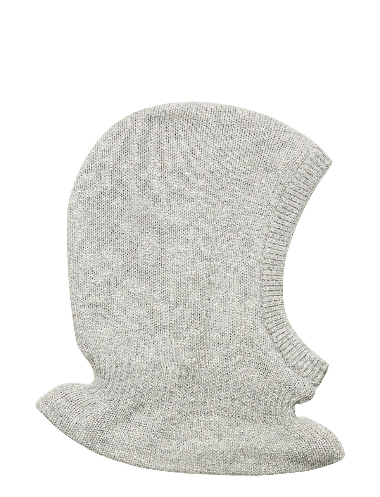 Wheat Knitted Balaclava - MELANGE GREY