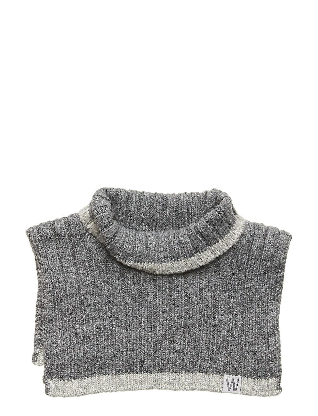 Image of Knitted Neck Warmer Tørklæde Grå Wheat (3406162827)