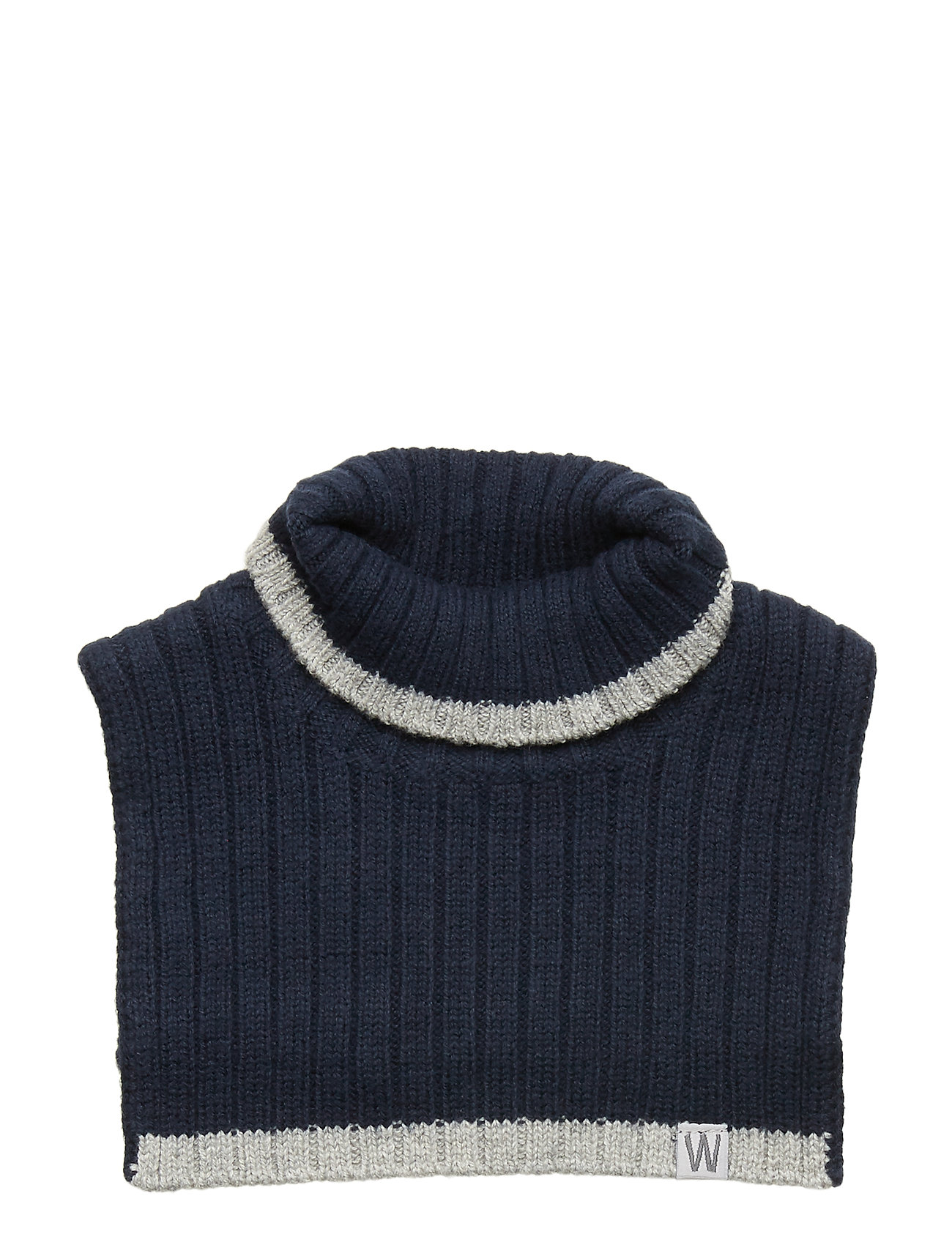 Wheat Knitted Neck Warmer - NAVY