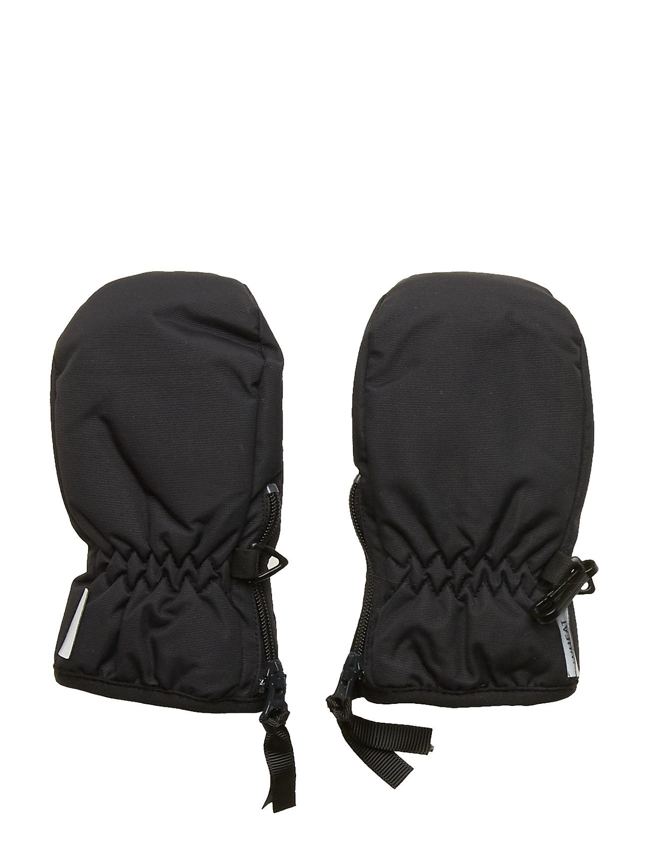 Wheat Mittens Technical Zipper - BLACK