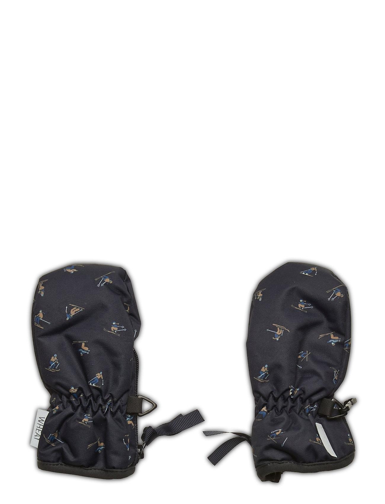 Image of Mittens Zipper Tech Outerwear Rainwear Accessories Sort Wheat (3446398033)