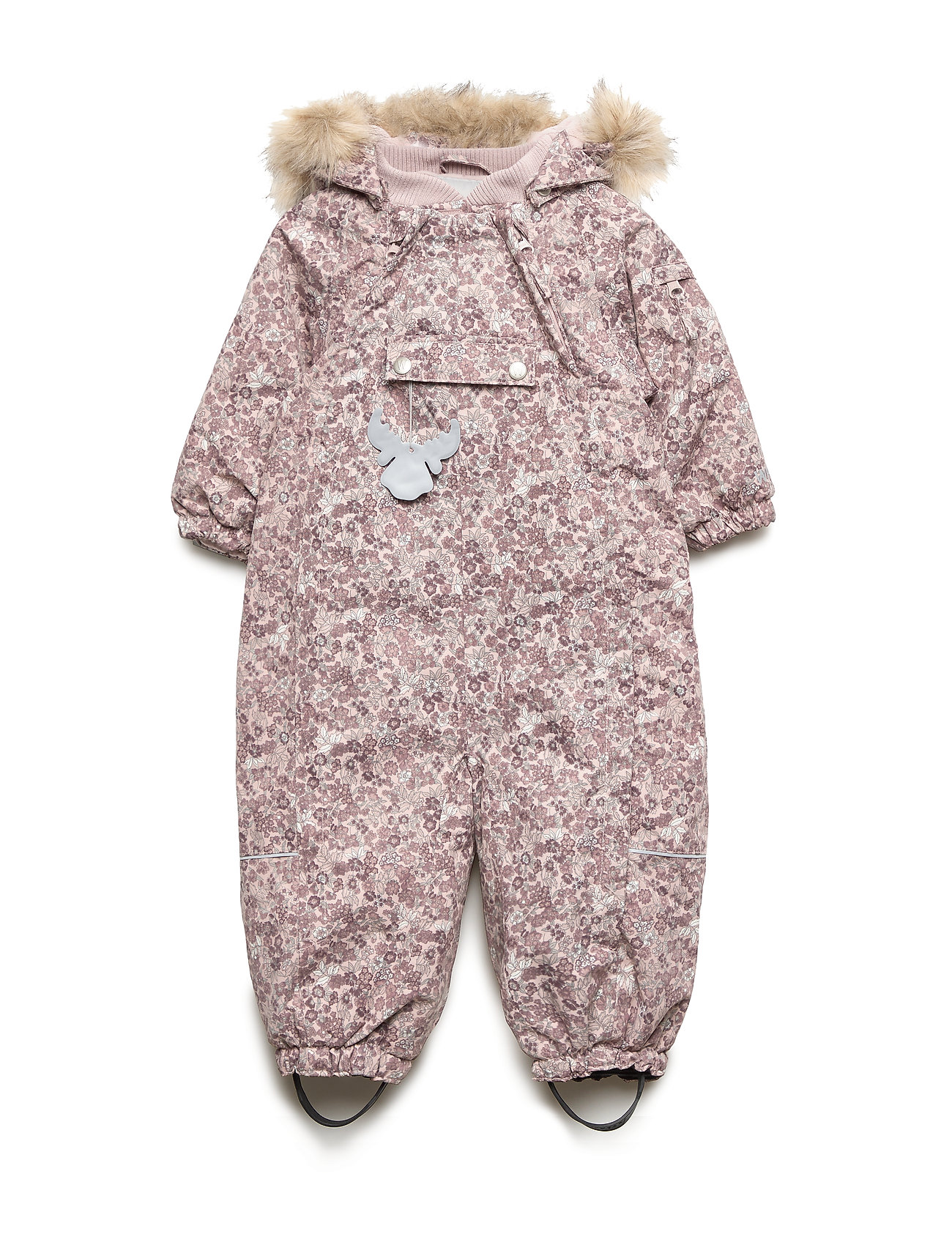 Wheat Snowsuit Nickie - ROSE POWDER