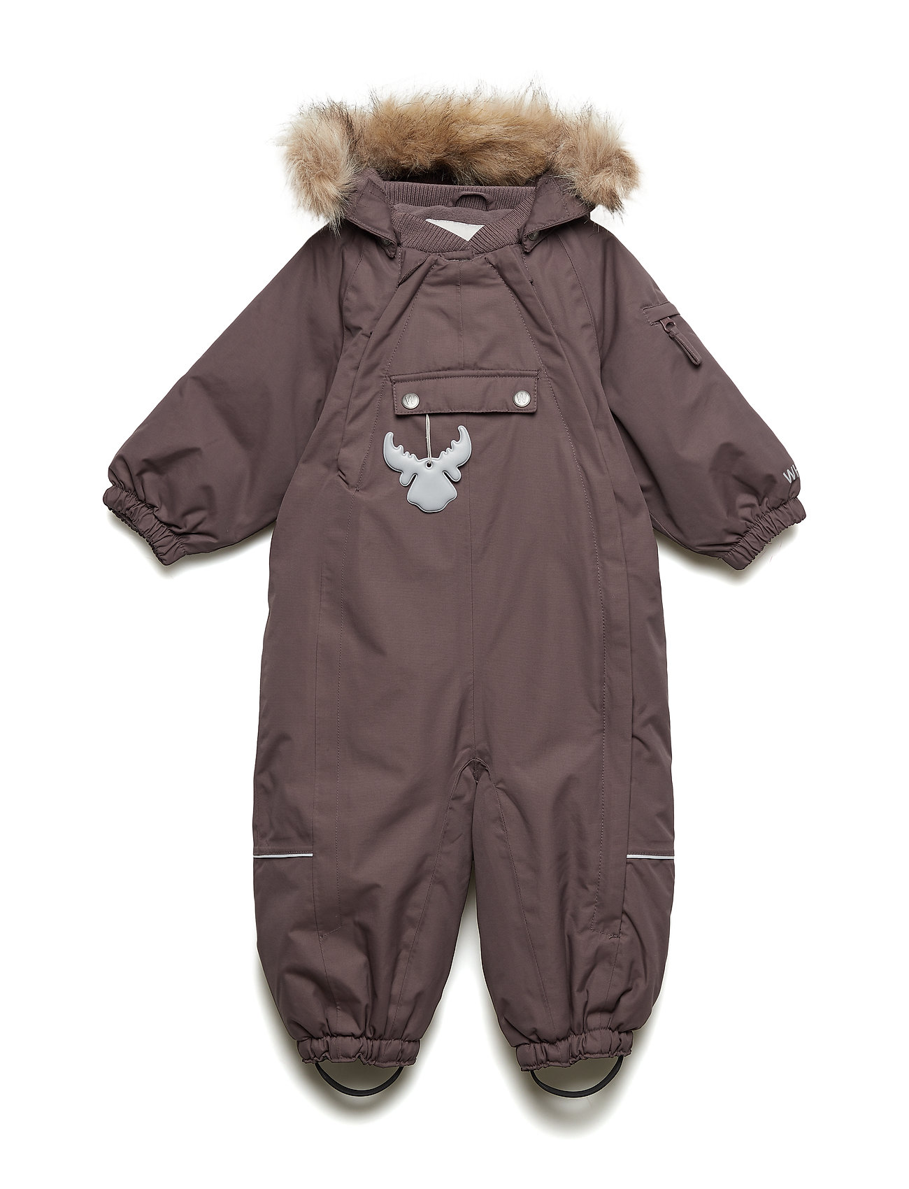 Wheat Snowsuit Nickie - EGGPLANT