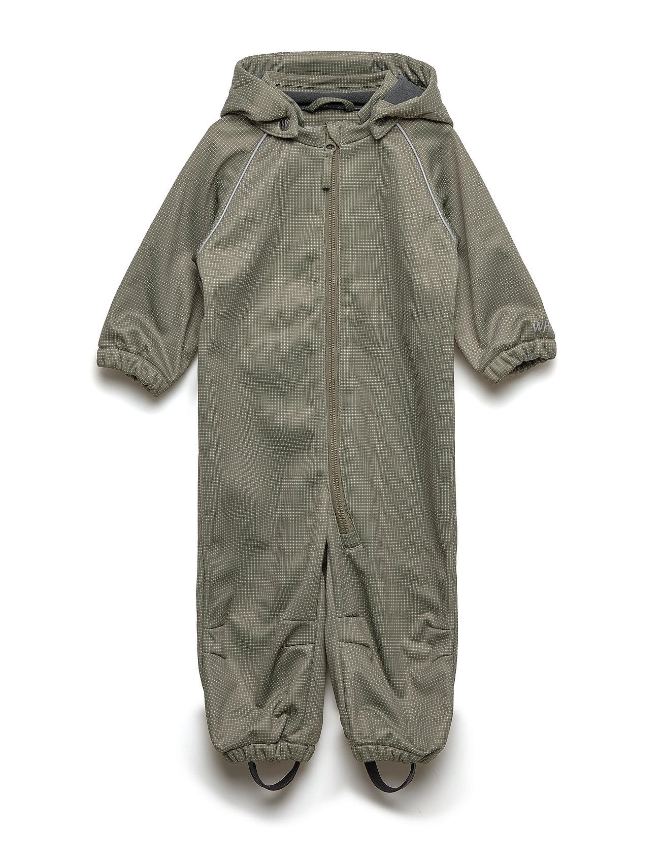 Wheat Softshell suit - ARMY LEAF