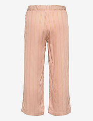 Wheat - Cropped Trousers Inga - trousers - peach stripe - 1