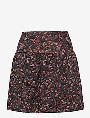 Wheat - Skirt Selma - spódnice - petroleum flowers - 0